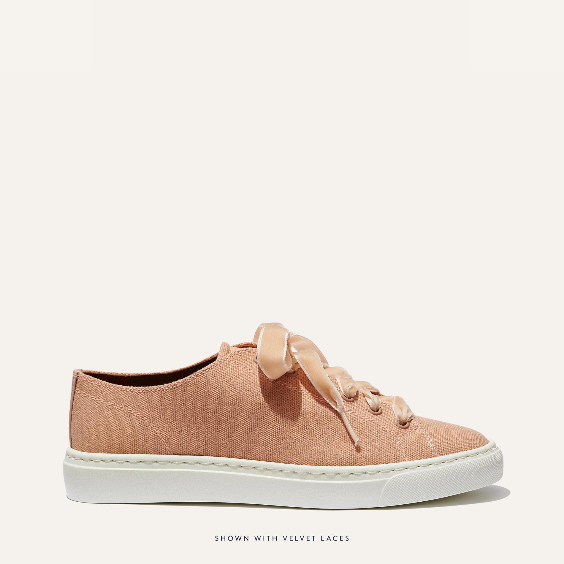 The Summer Sneaker - Rose Canvas