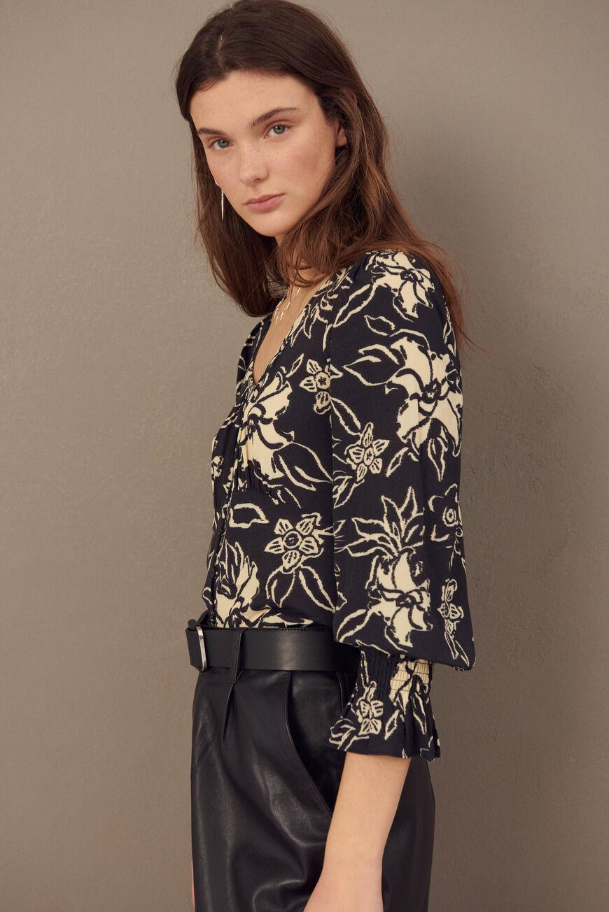 sessee.FLORAL BLOUSE 3