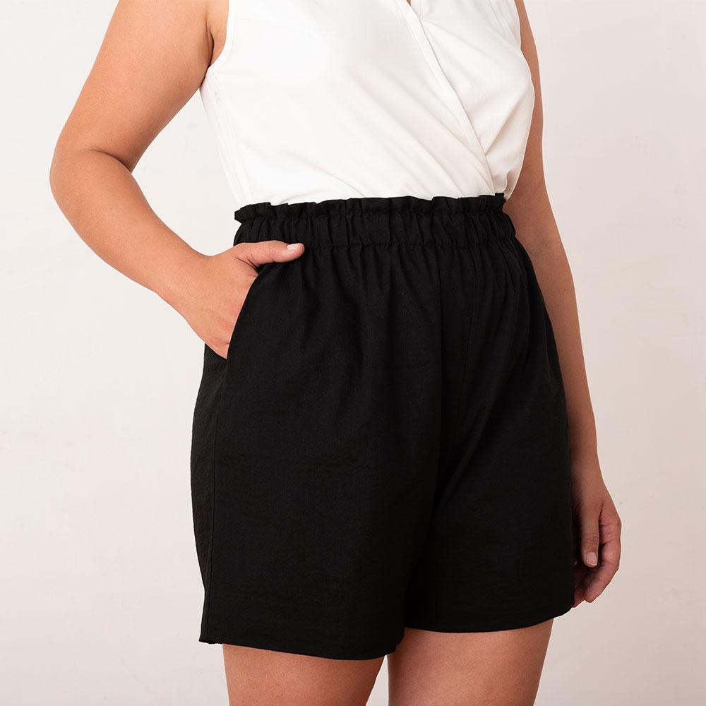 Ease In Paperbag Shorts 1