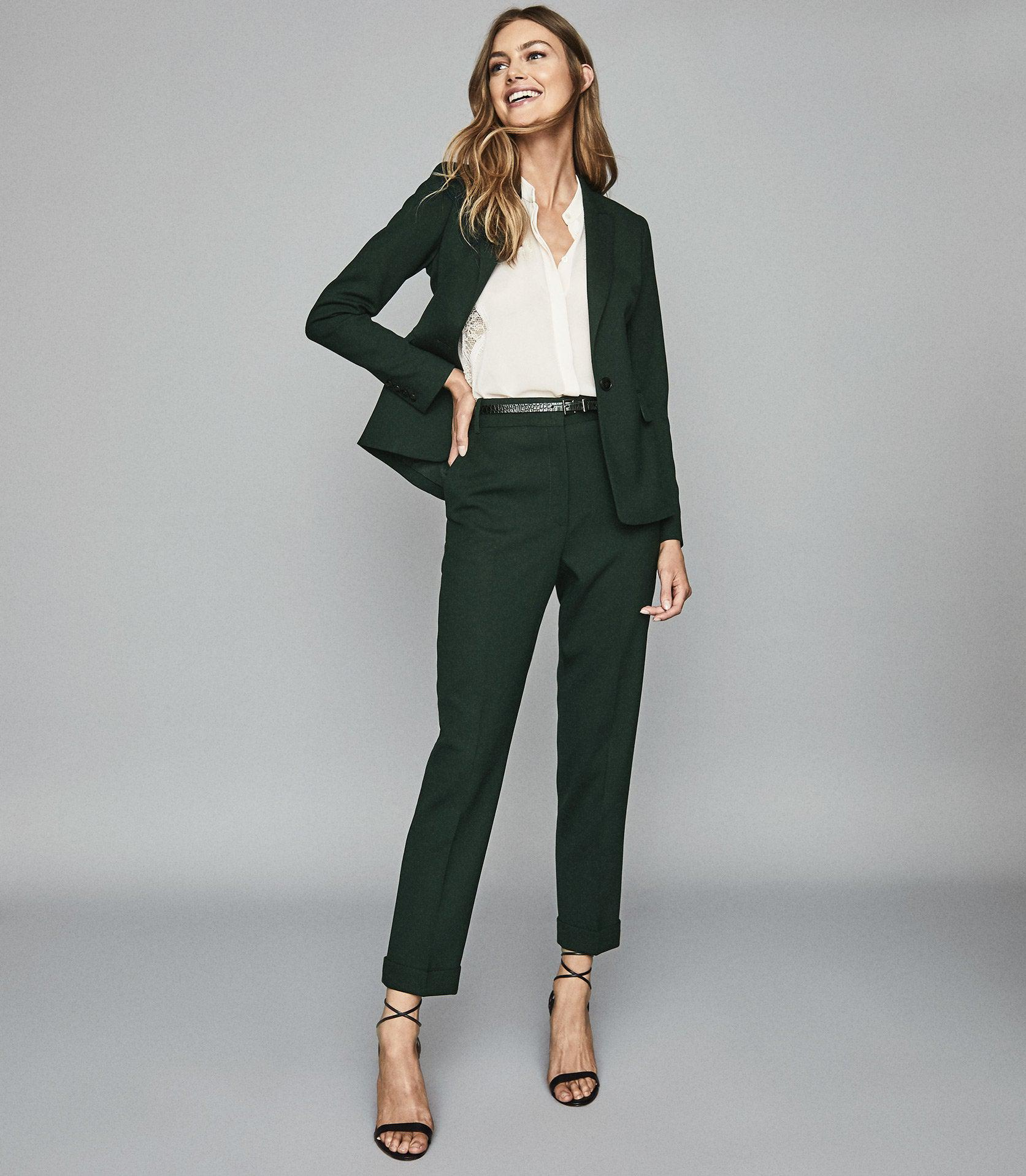 GINNIE TROUSER - SLIM FIT TAILORED TROUSERS