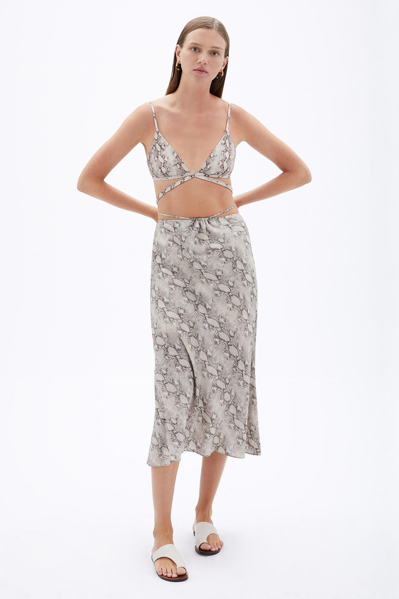 Shiloh Printed Coverup Skirt