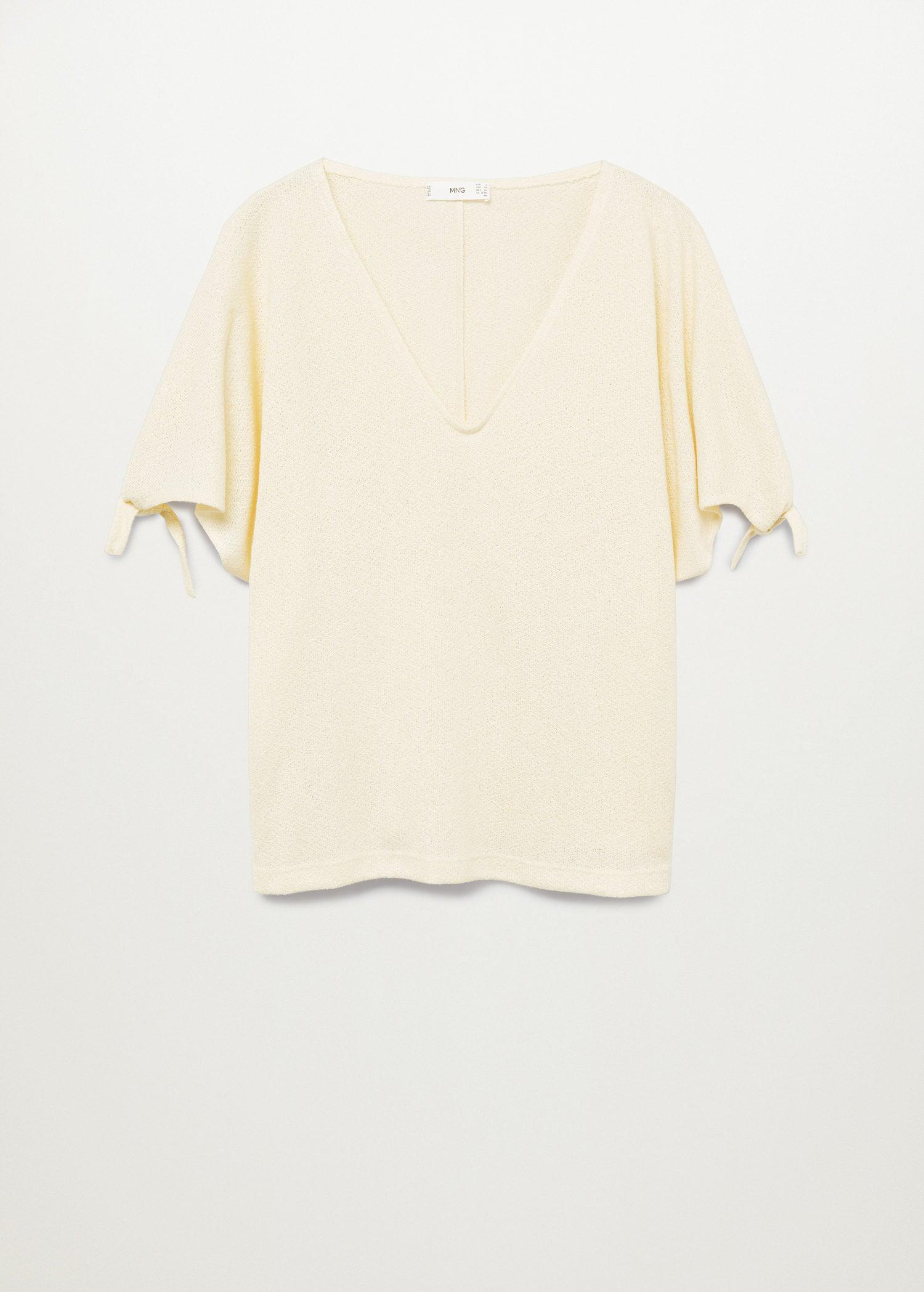 Knotted jersey T-shirt 6