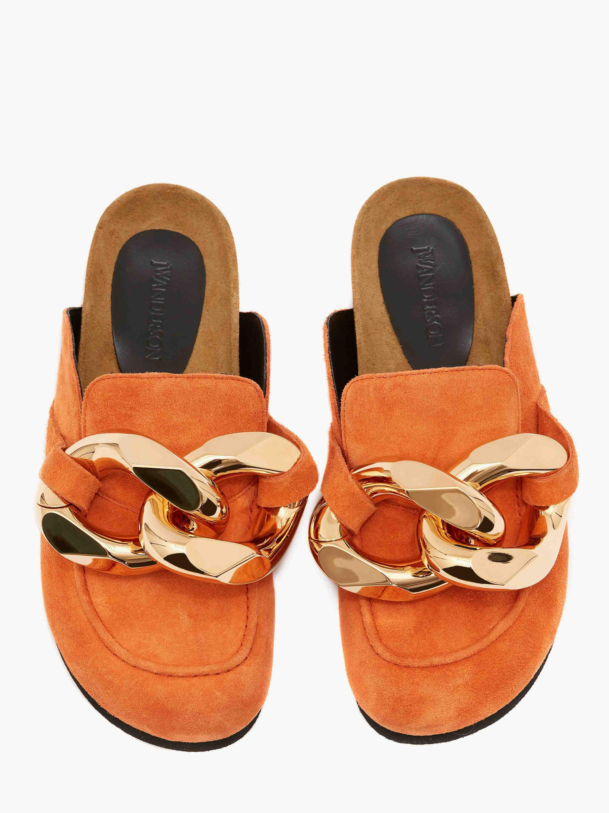 WOMEN'S CHAIN LOAFER - SUEDE 3