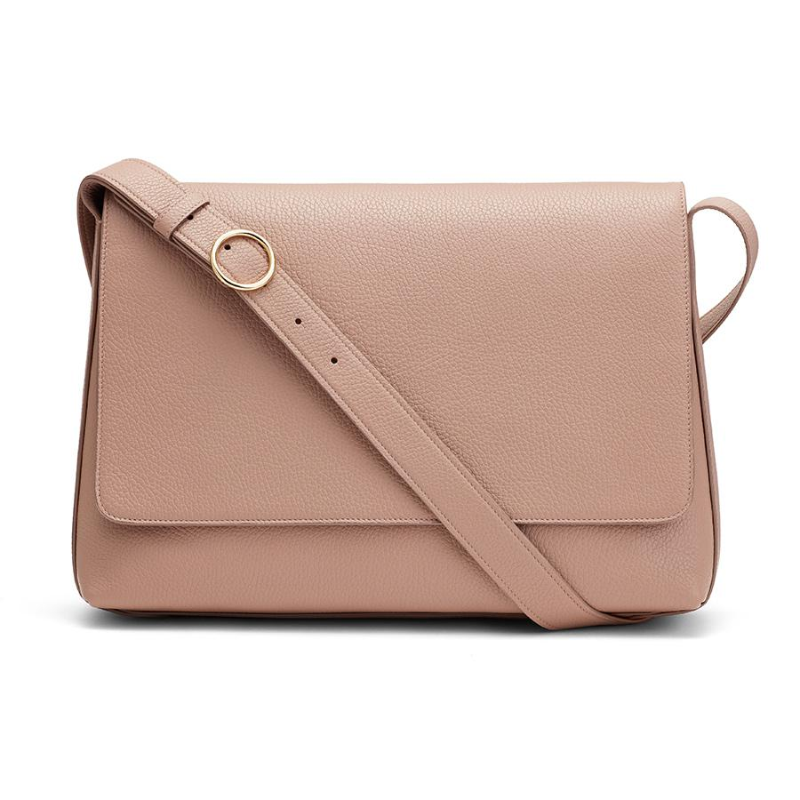 inch in Soft Rose | Pebbled Leather by Cuyana