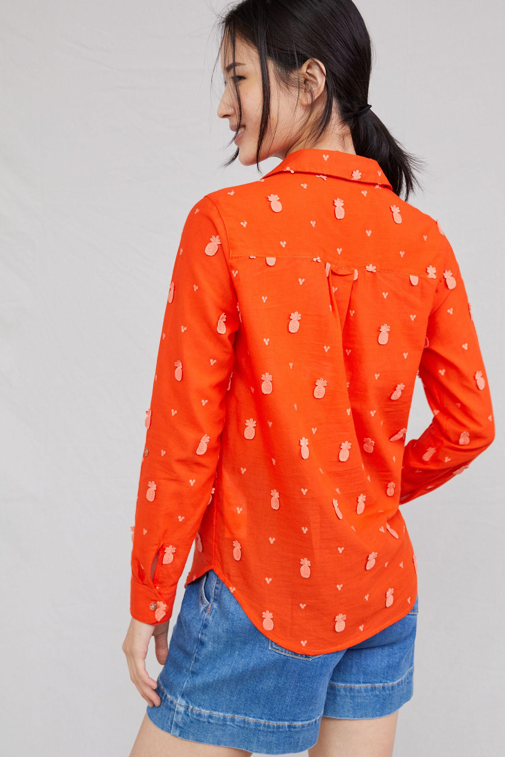 Maeve Classic Embroidered Buttondown 2