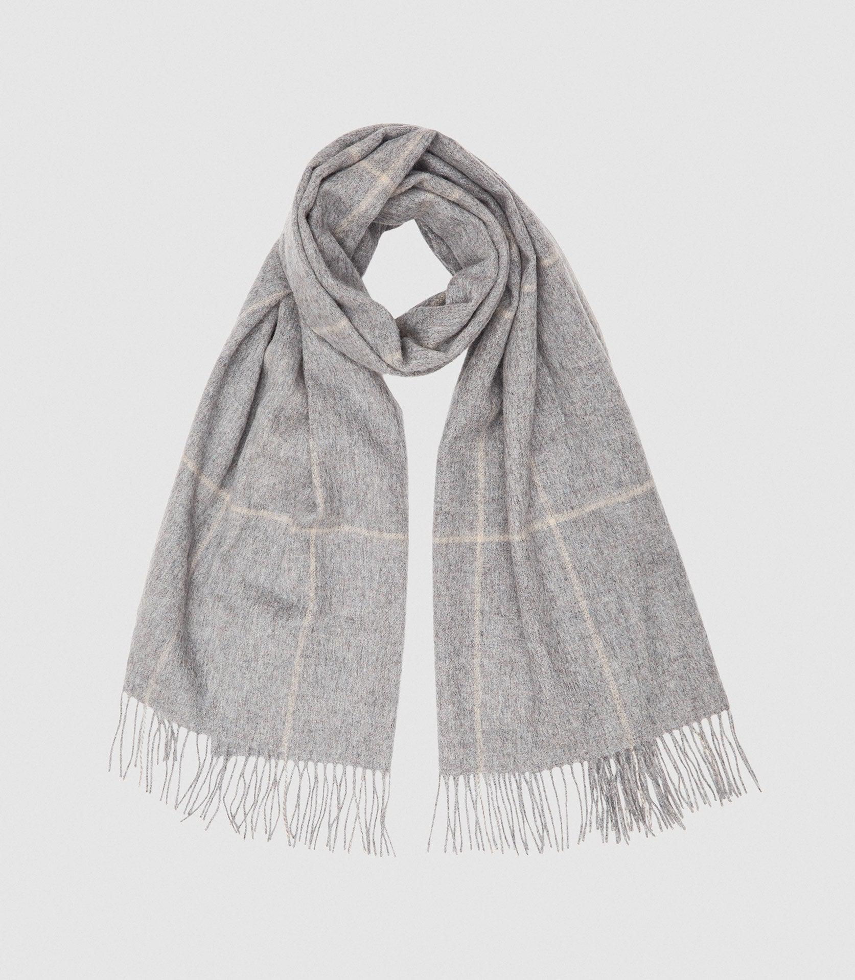 POLLY - WOOL CASHMERE BLEND OVERSIZED SCARF