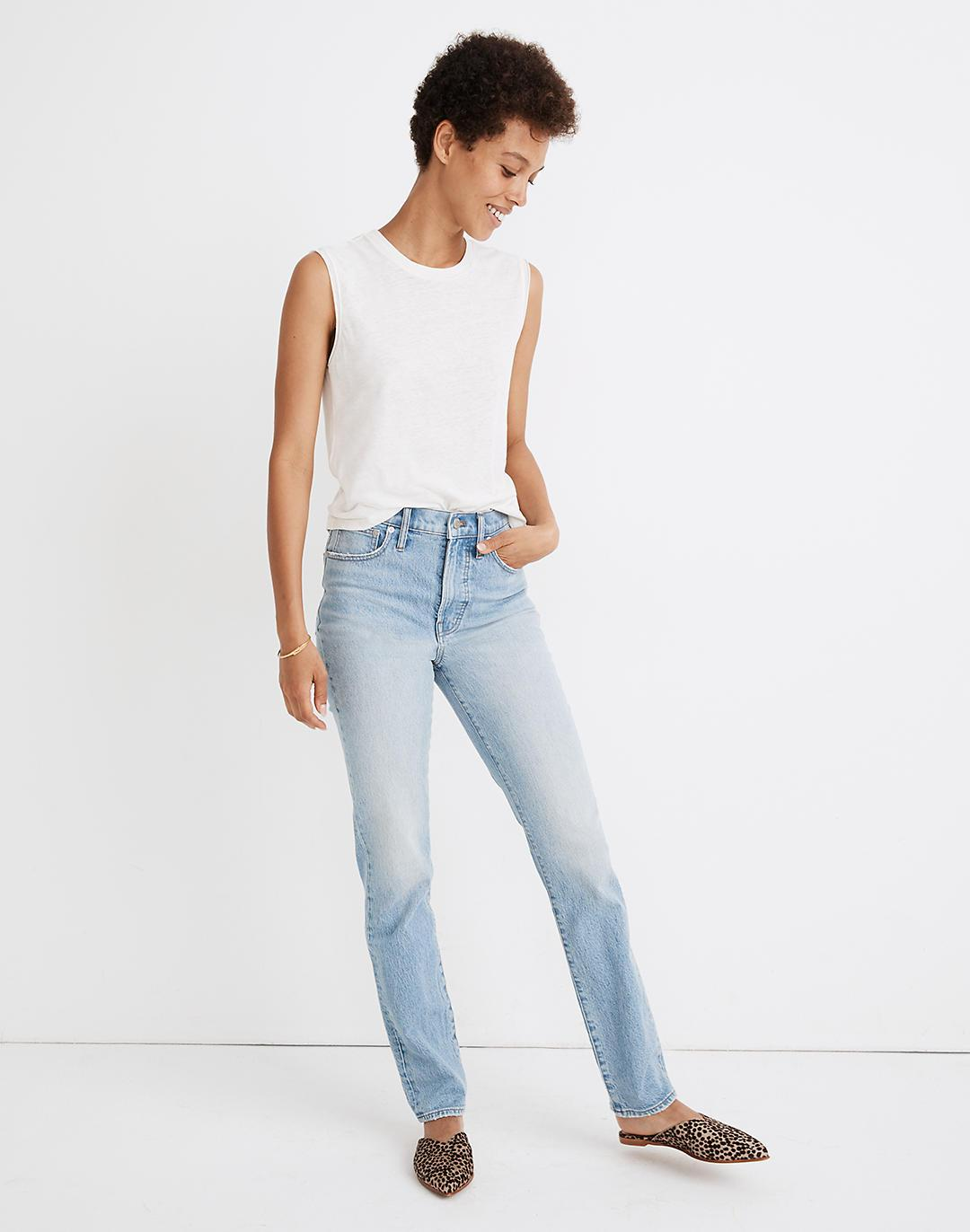 The Perfect Vintage Full-Length Jean in Colebrooke Wash