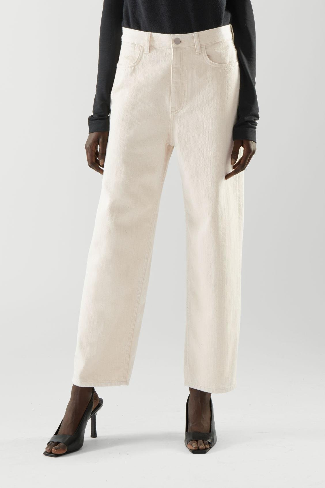STRAIGHT MID-RISE JEANS 1