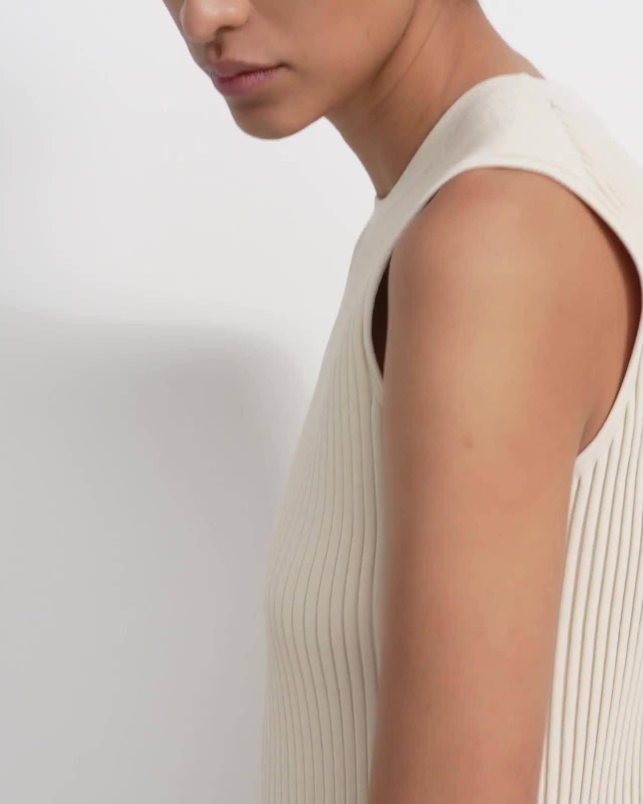 Shell Top in Eco Knit 4