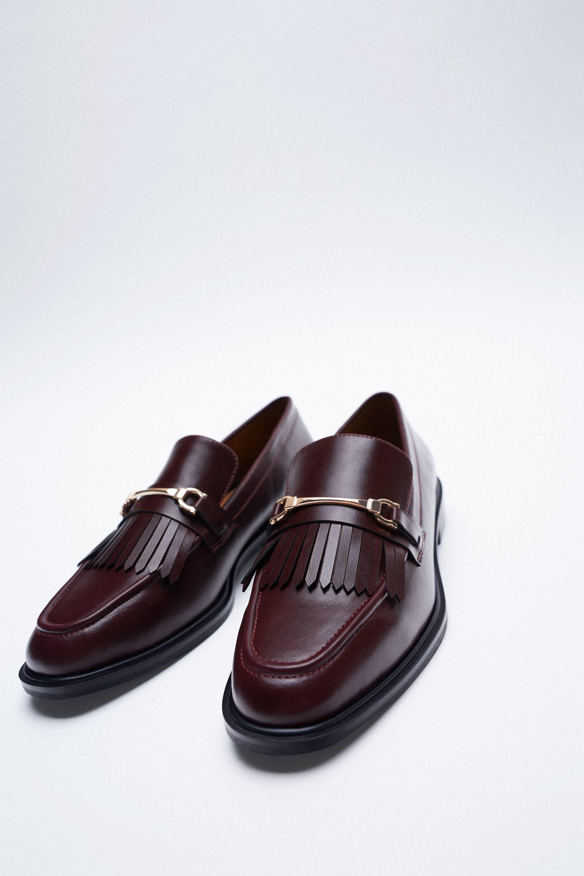LOW HEEL FRINGED LOAFERS 1