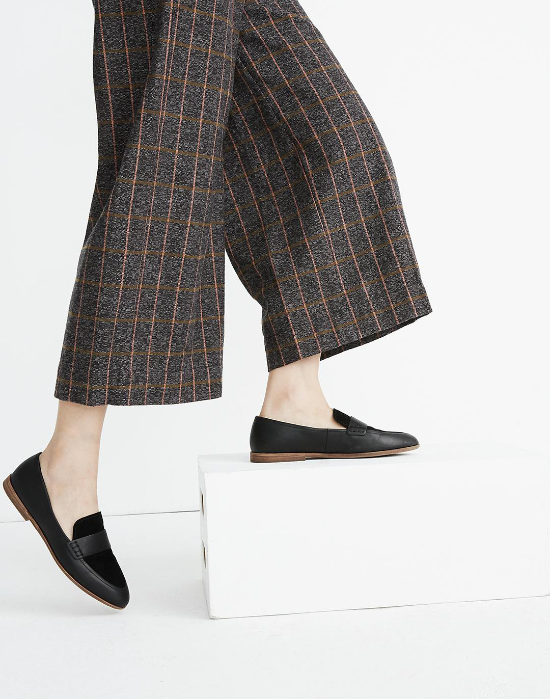 The Alex Loafer in Leather and Suede 3