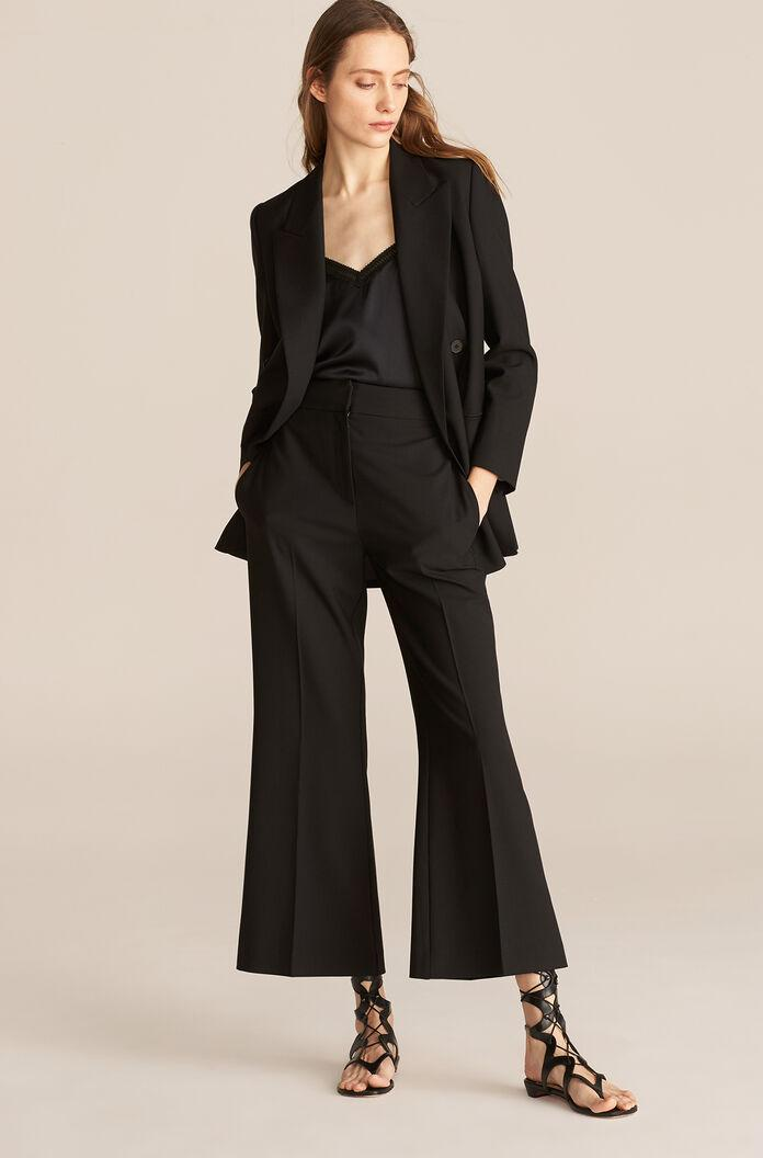 CAVALRY TWILL FLARE PANT
