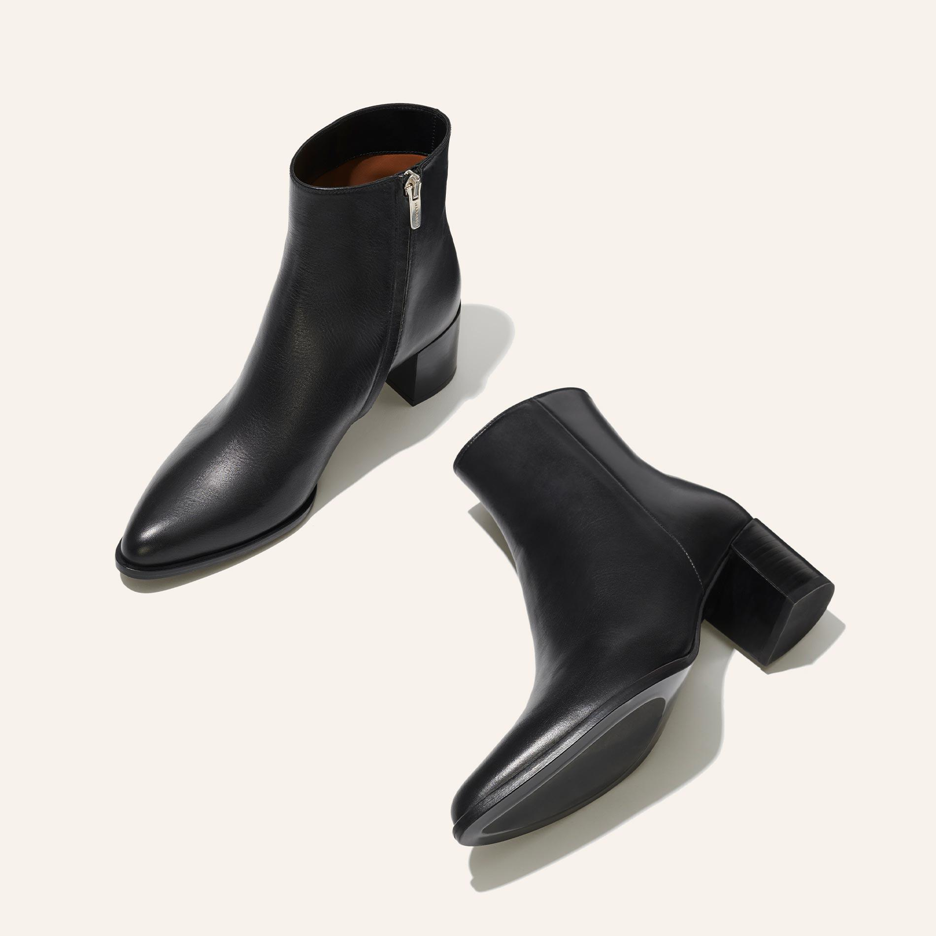 The Downtown Boot - Black Calf 2