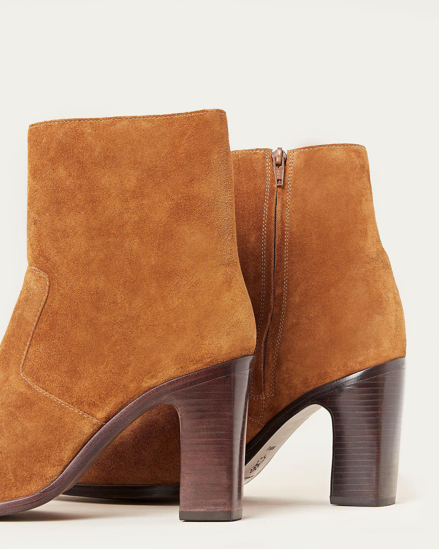 Blair Cacao Ankle Bootie 2