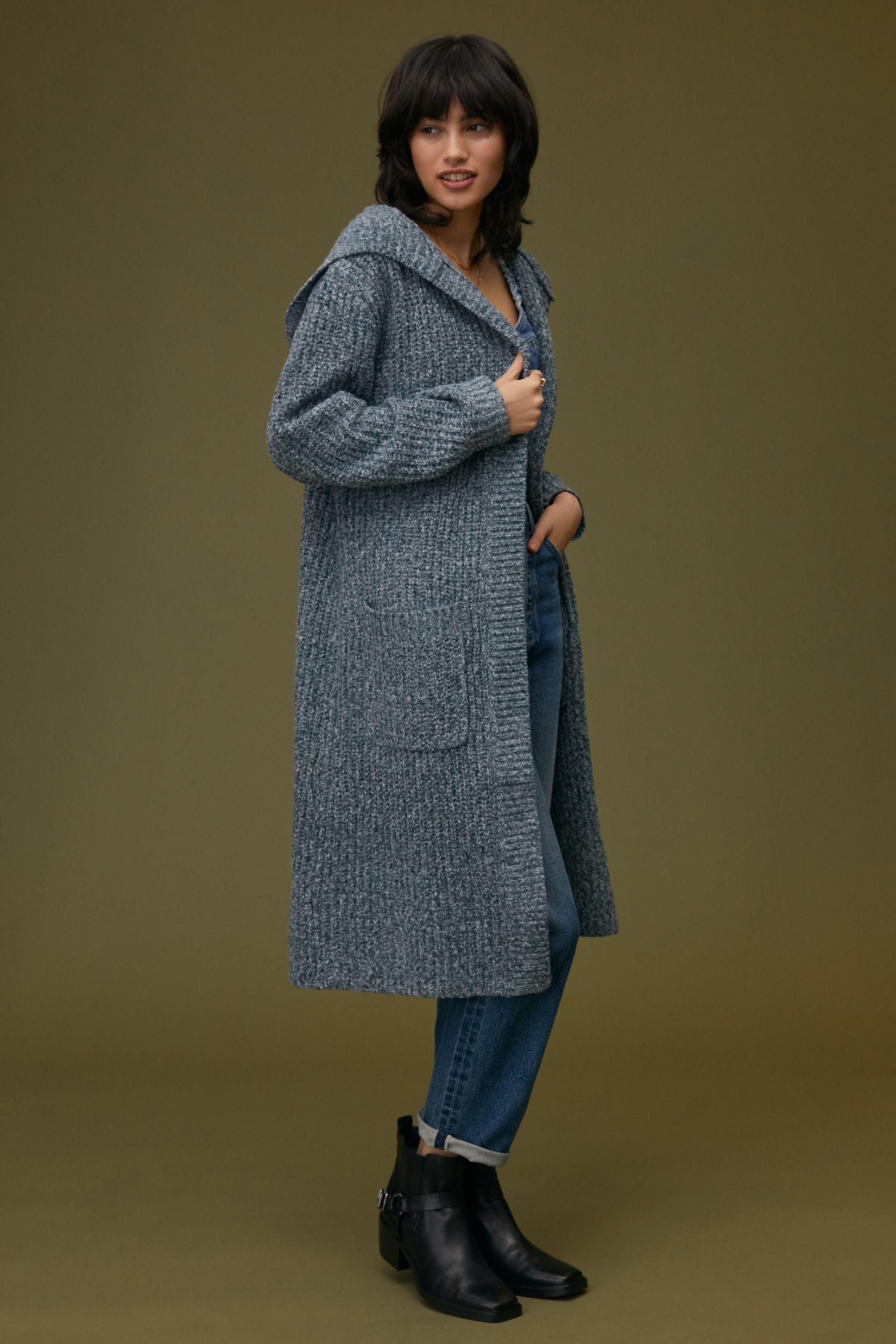 Hooded Duster Cardigan