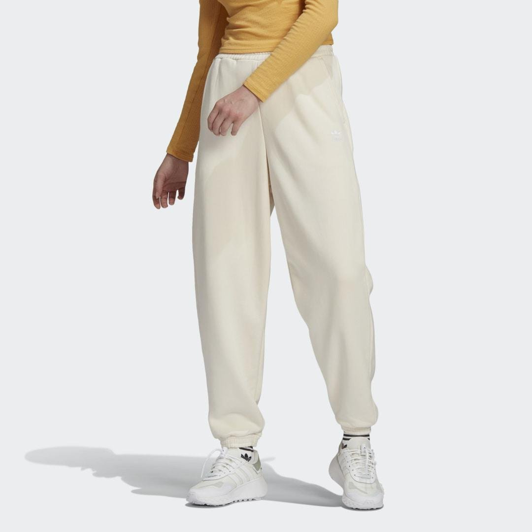 Adicolor Classics No-Dye Relaxed Joggers White