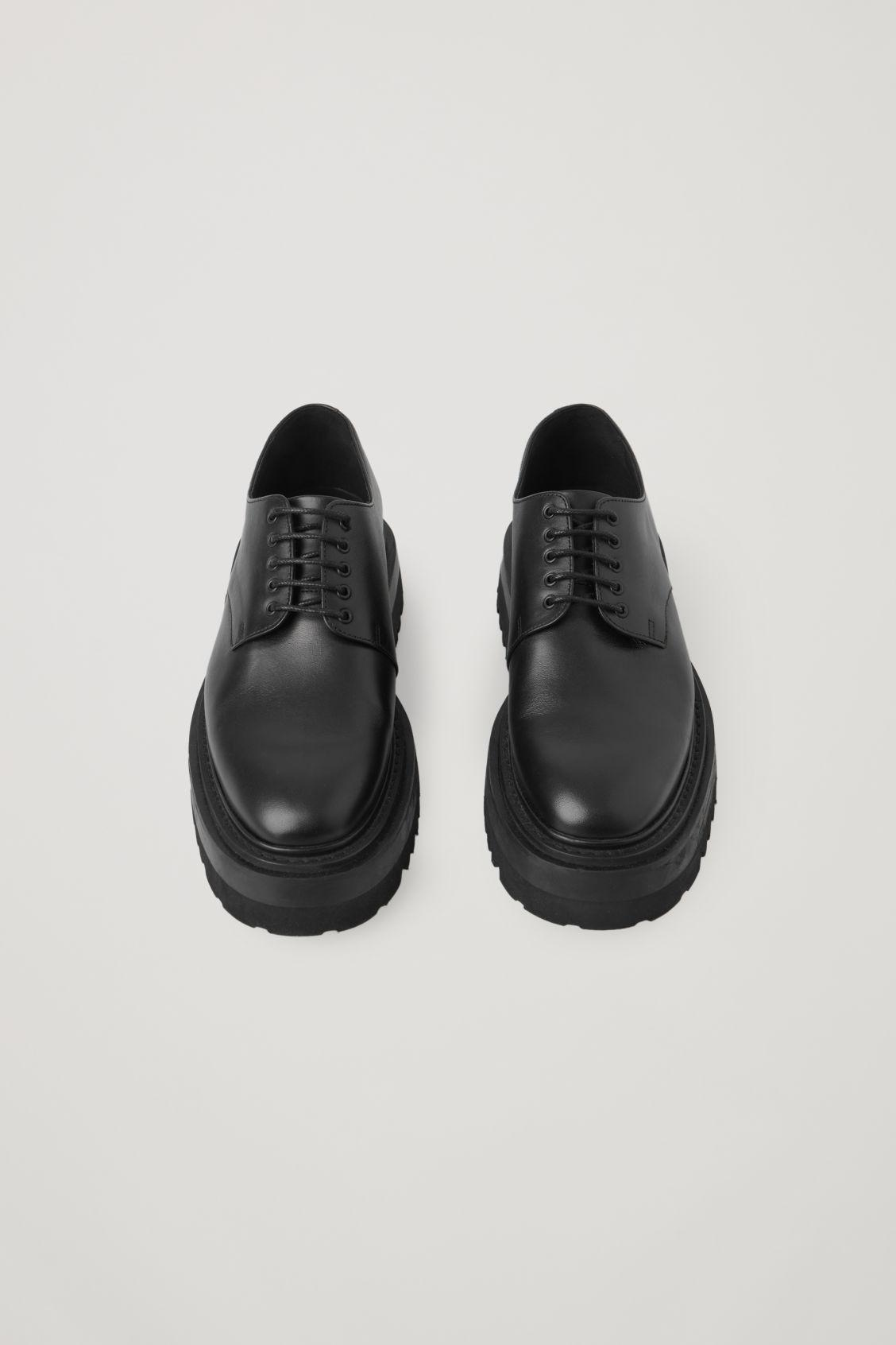CHUNKY DERBY SHOES 2