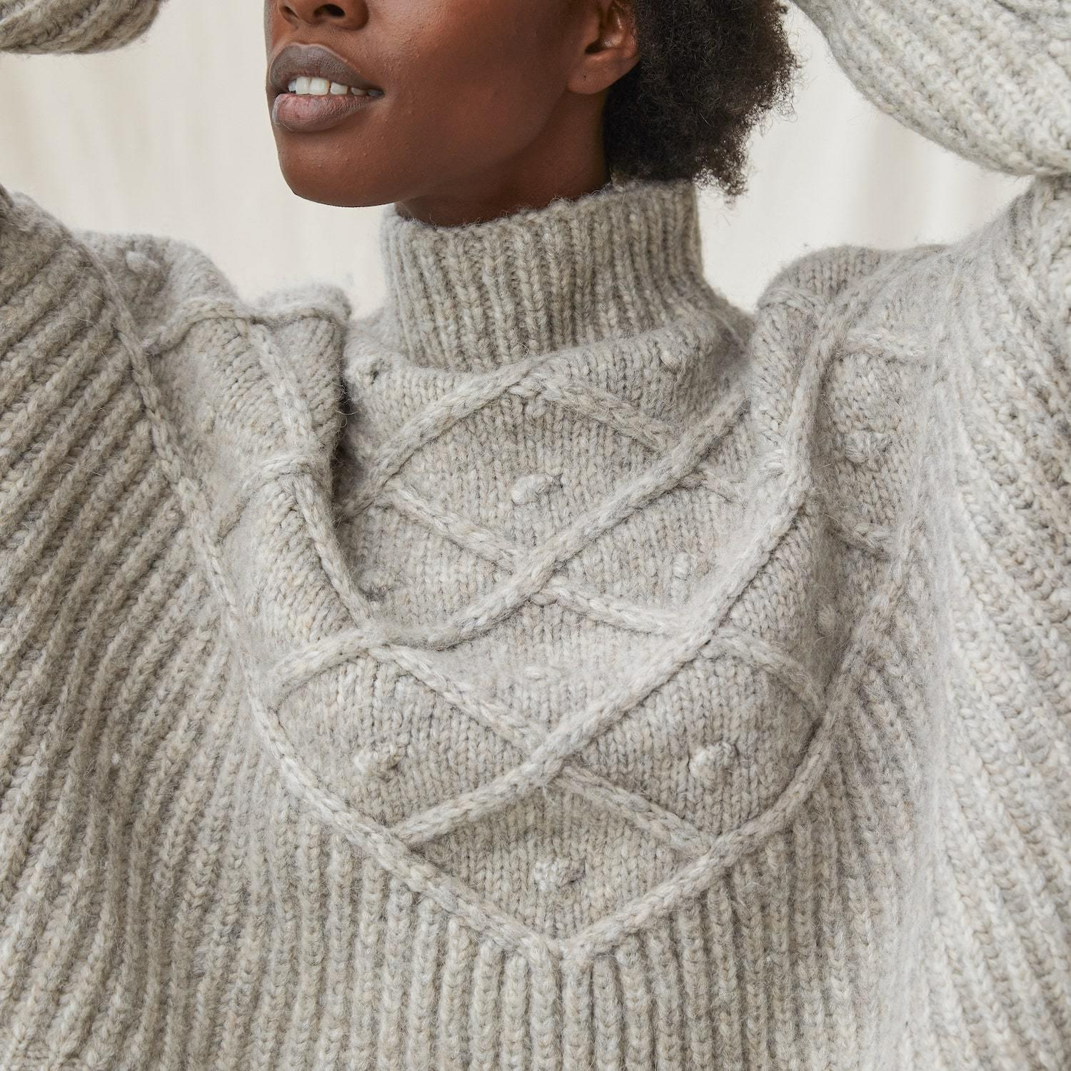 Chunky Wool Pullover 4