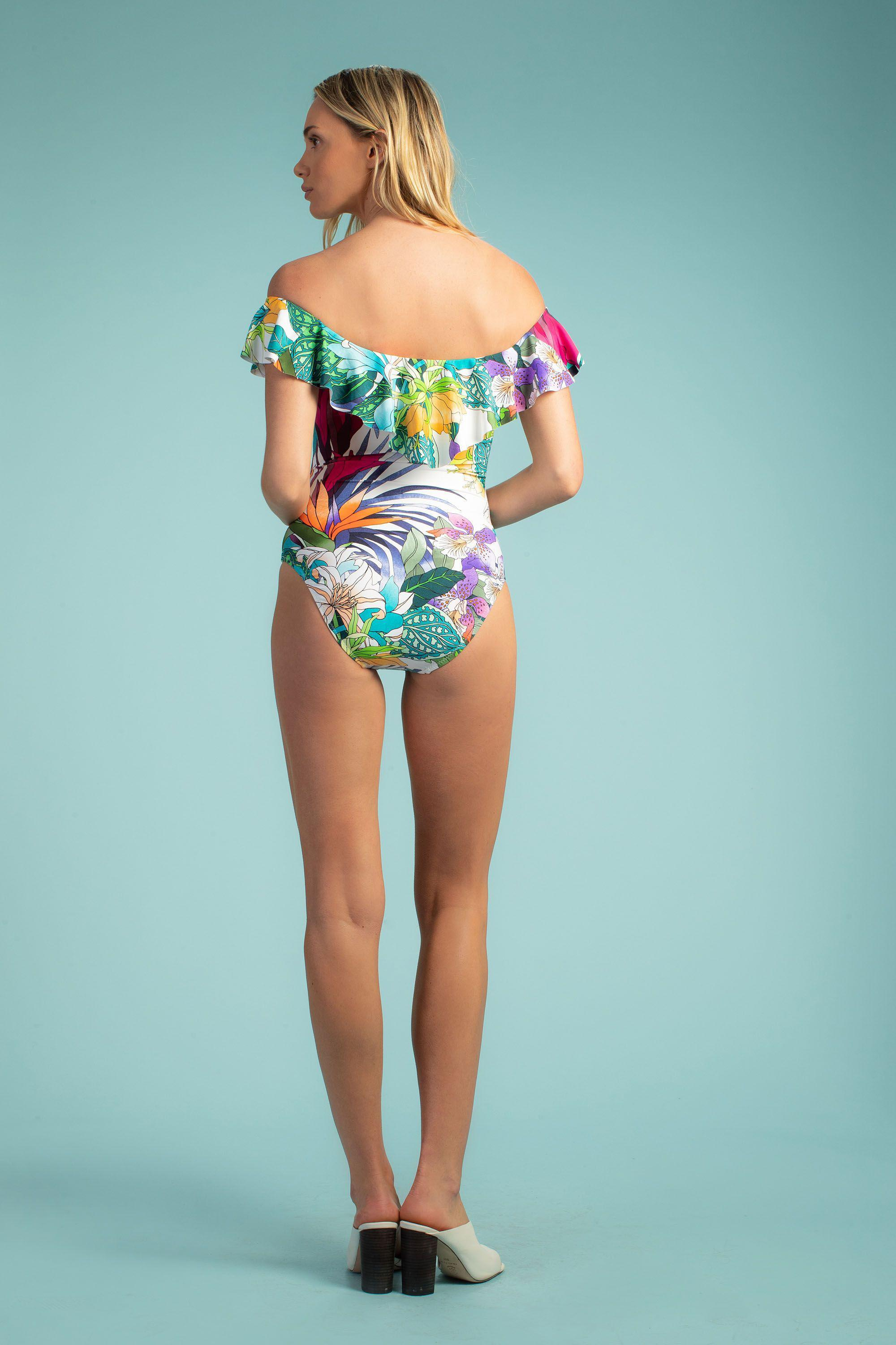 AMAZONIA OFF THE SHOULDER ONE PIECE 1