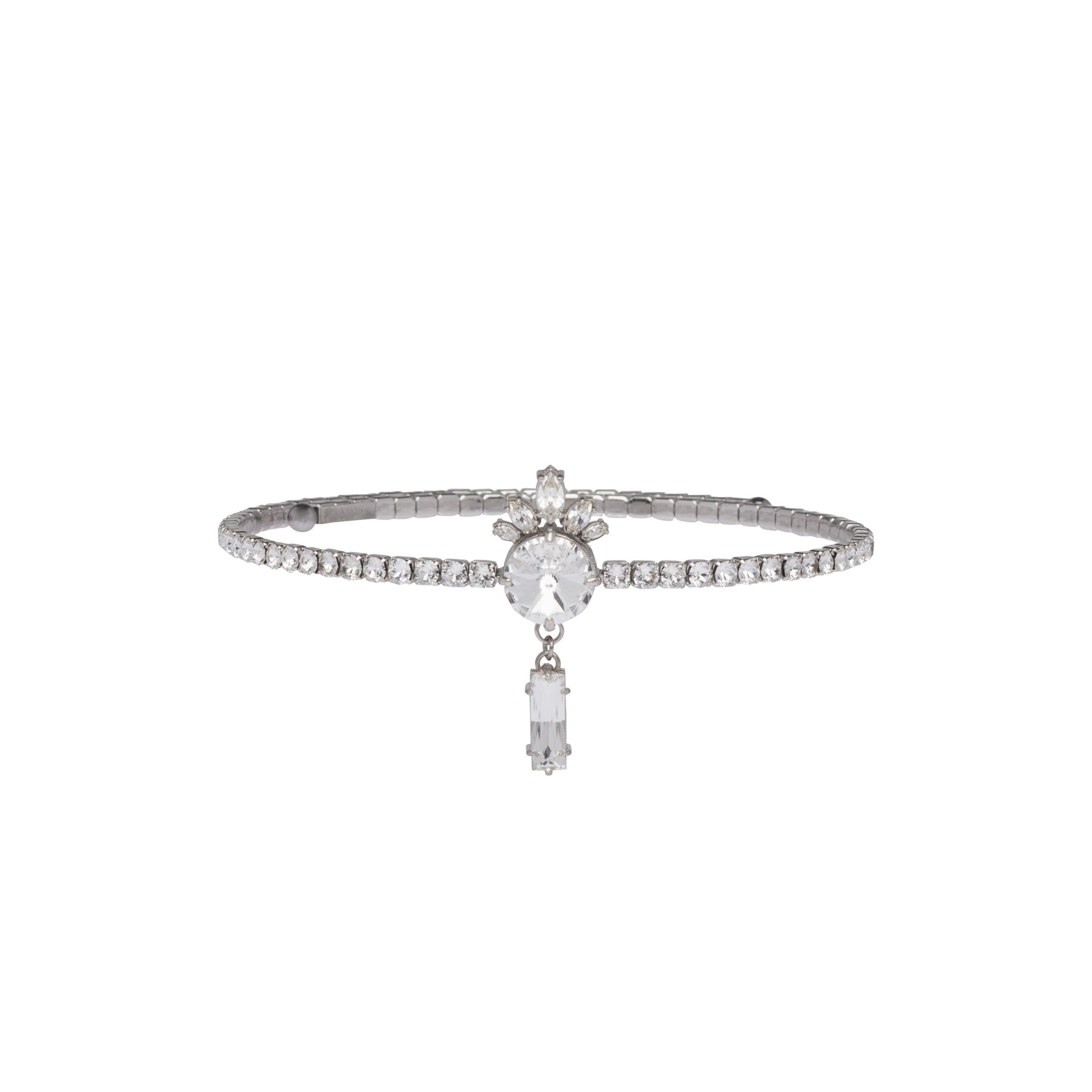 Choker With Crystals Women Crystal