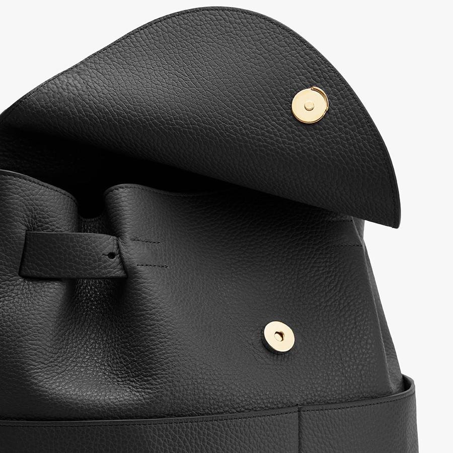 Women's Leather Backpack in Black | Pebbled Leather by Cuyana 2