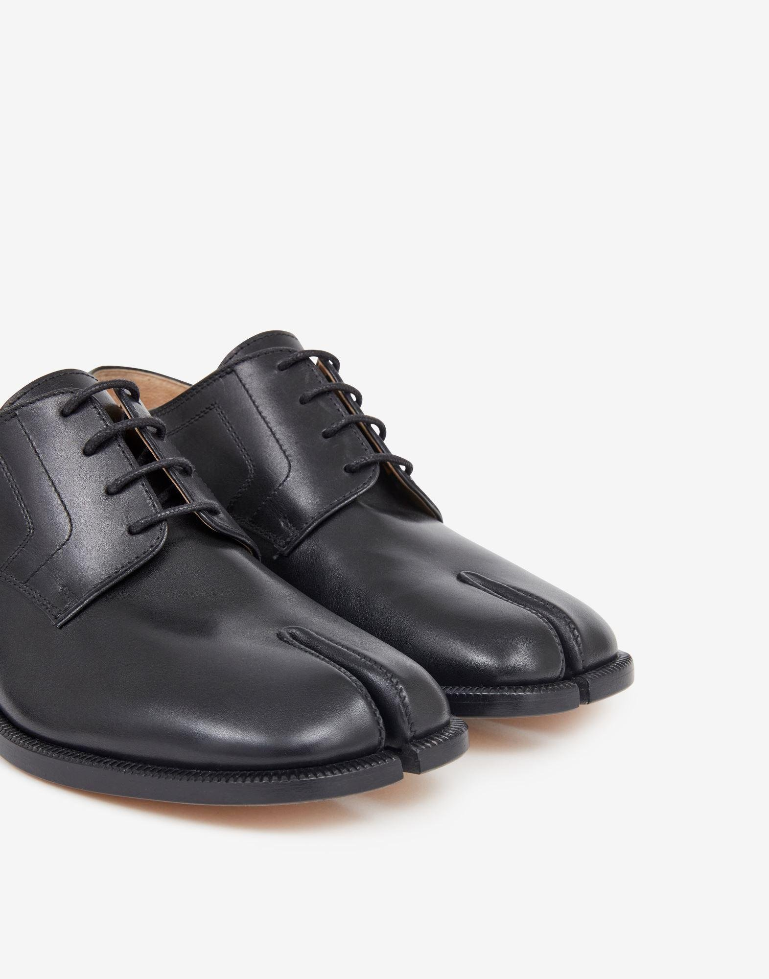 Tabi lace-up shoes 4