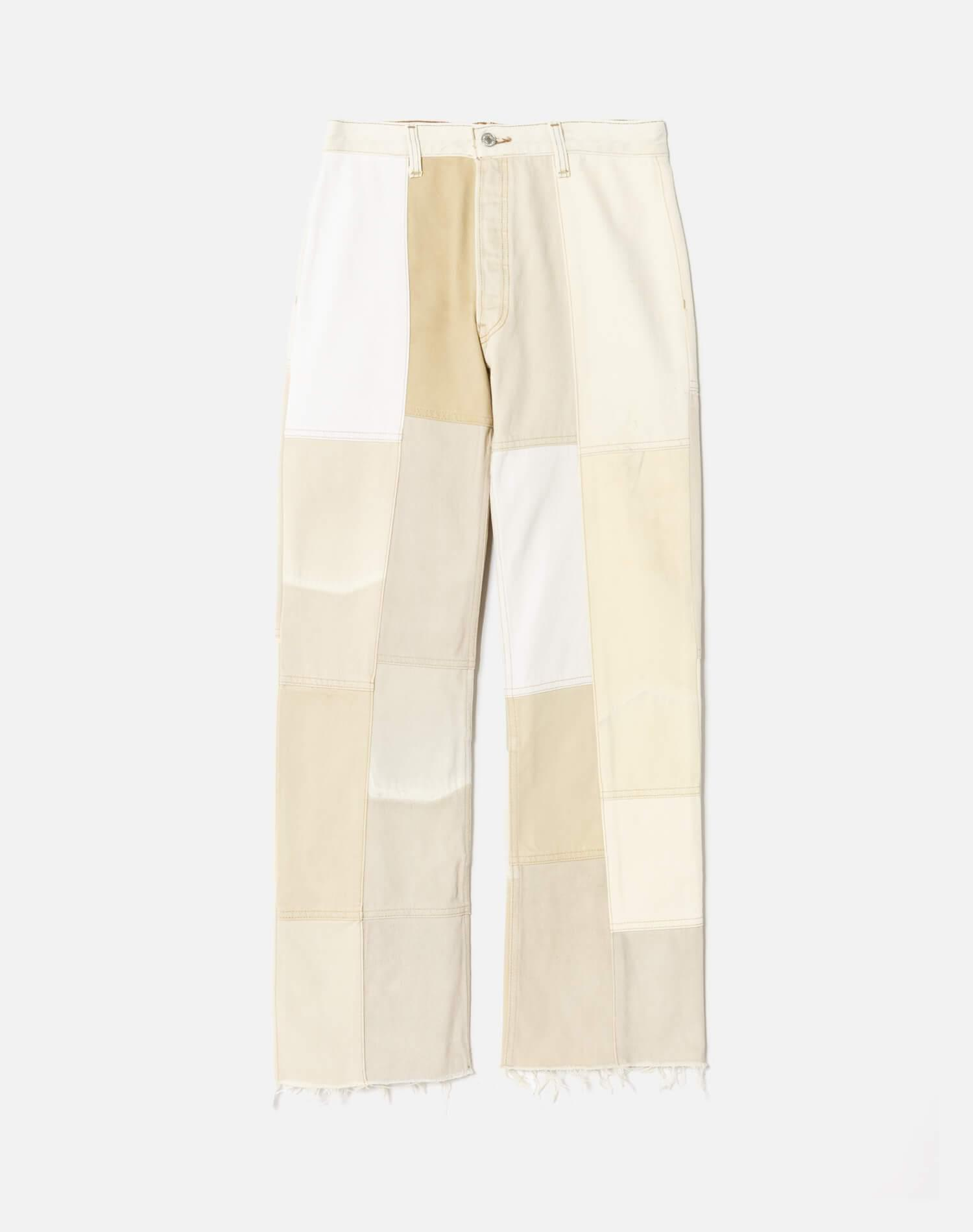 70s Patched Wide Leg