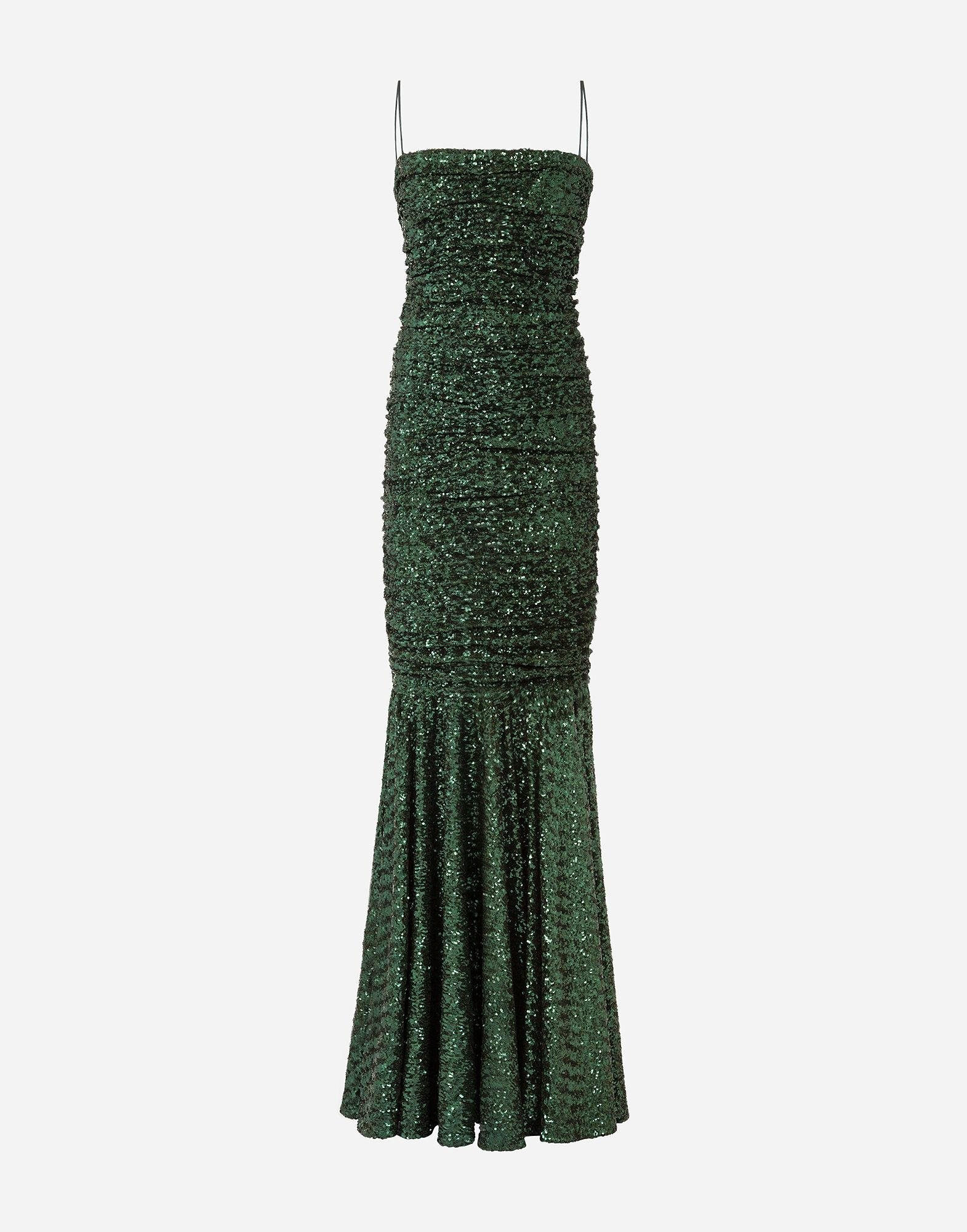 Long sequined dress 4
