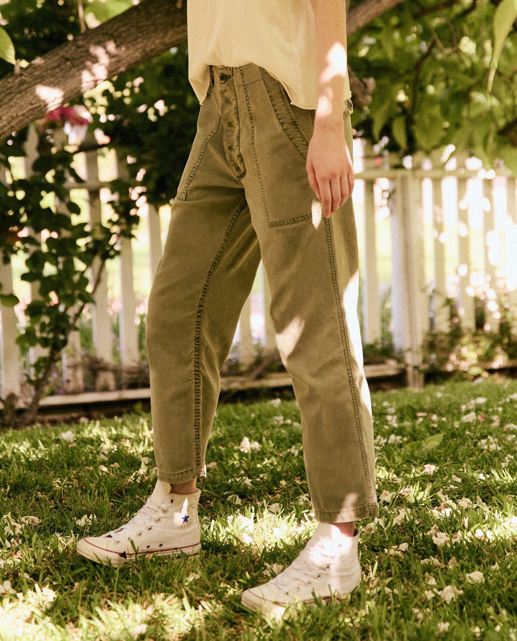 The Vintage Army Pant. -- ARMY