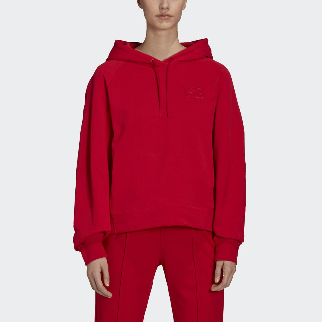 Y-3 Classic Chest Logo Hoodie Red