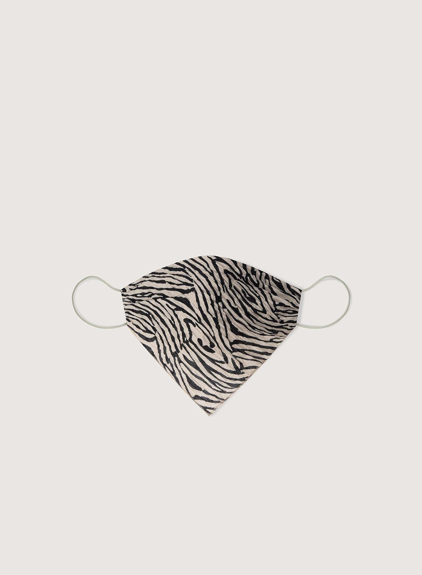 SCARFIE - Printed face covering - Zebra