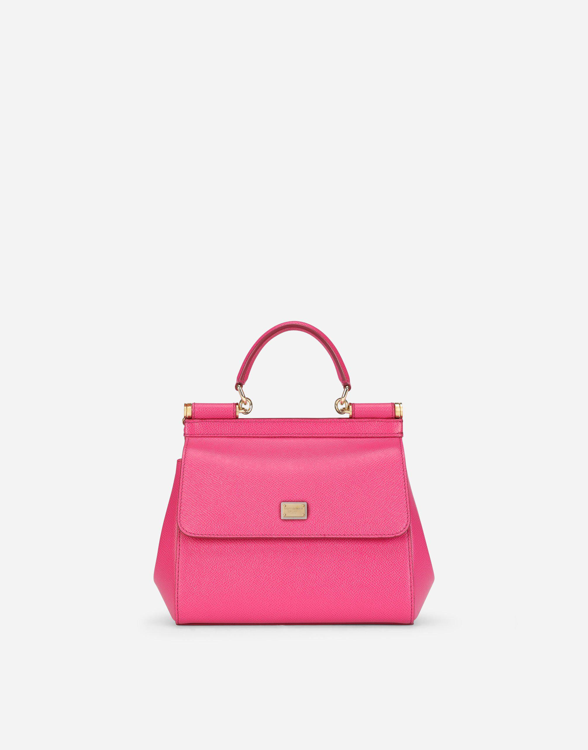 Small Sicily bag in dauphine calfskin
