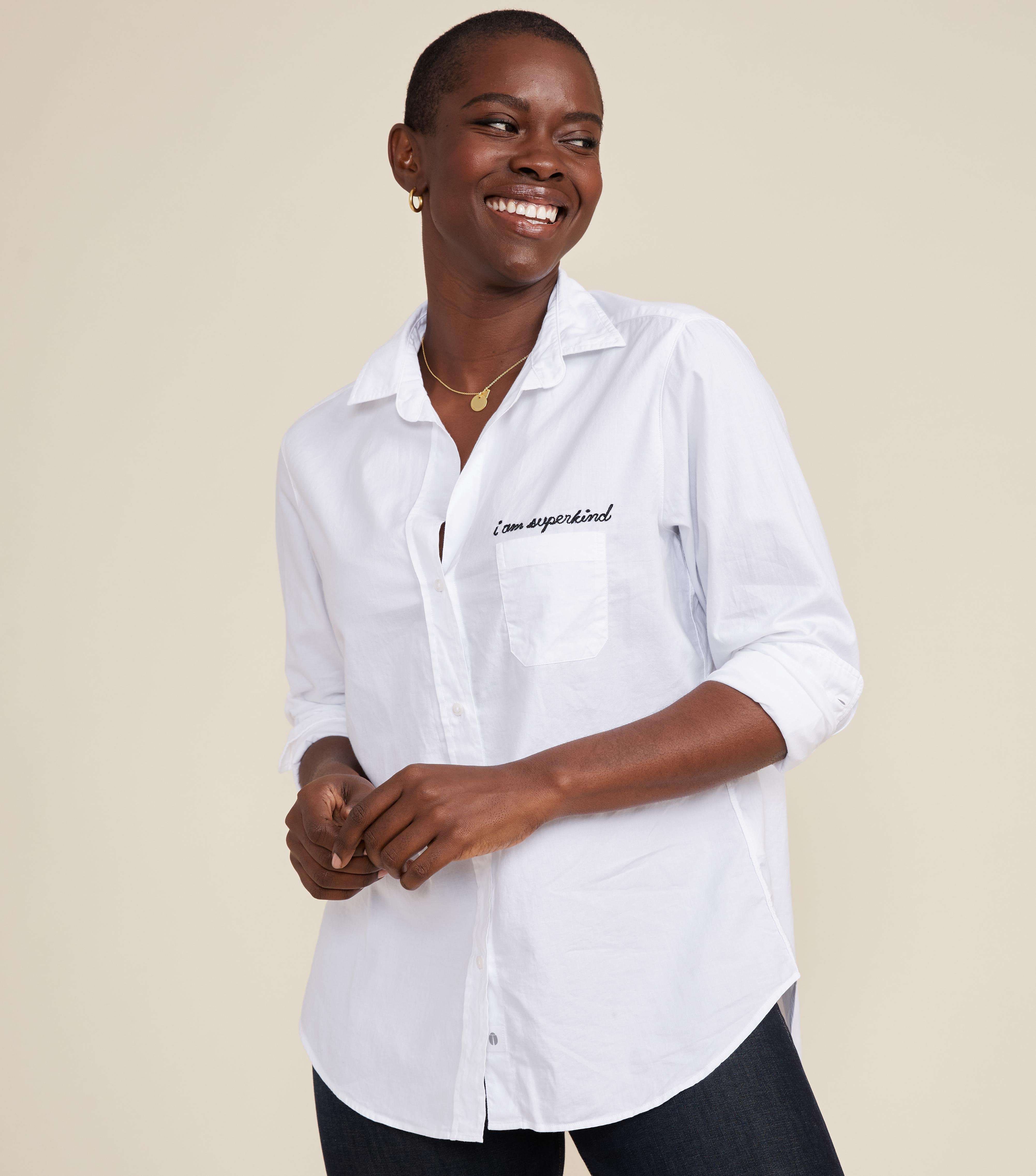 The Hero Button-Up Shirt Kind, Brushed Cotton