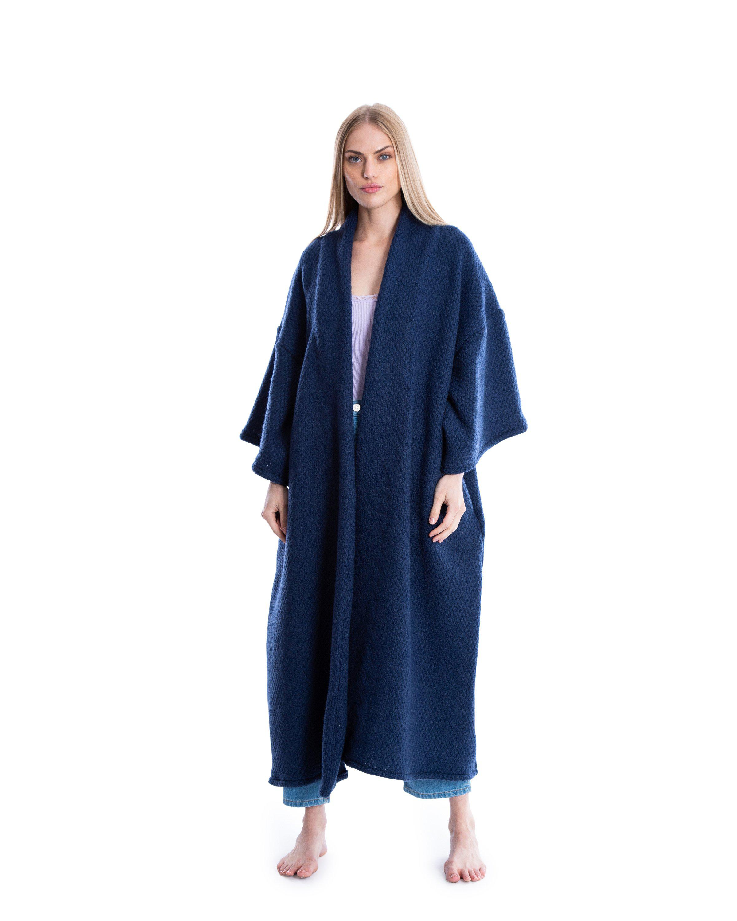 no. 4052 navy knit duster