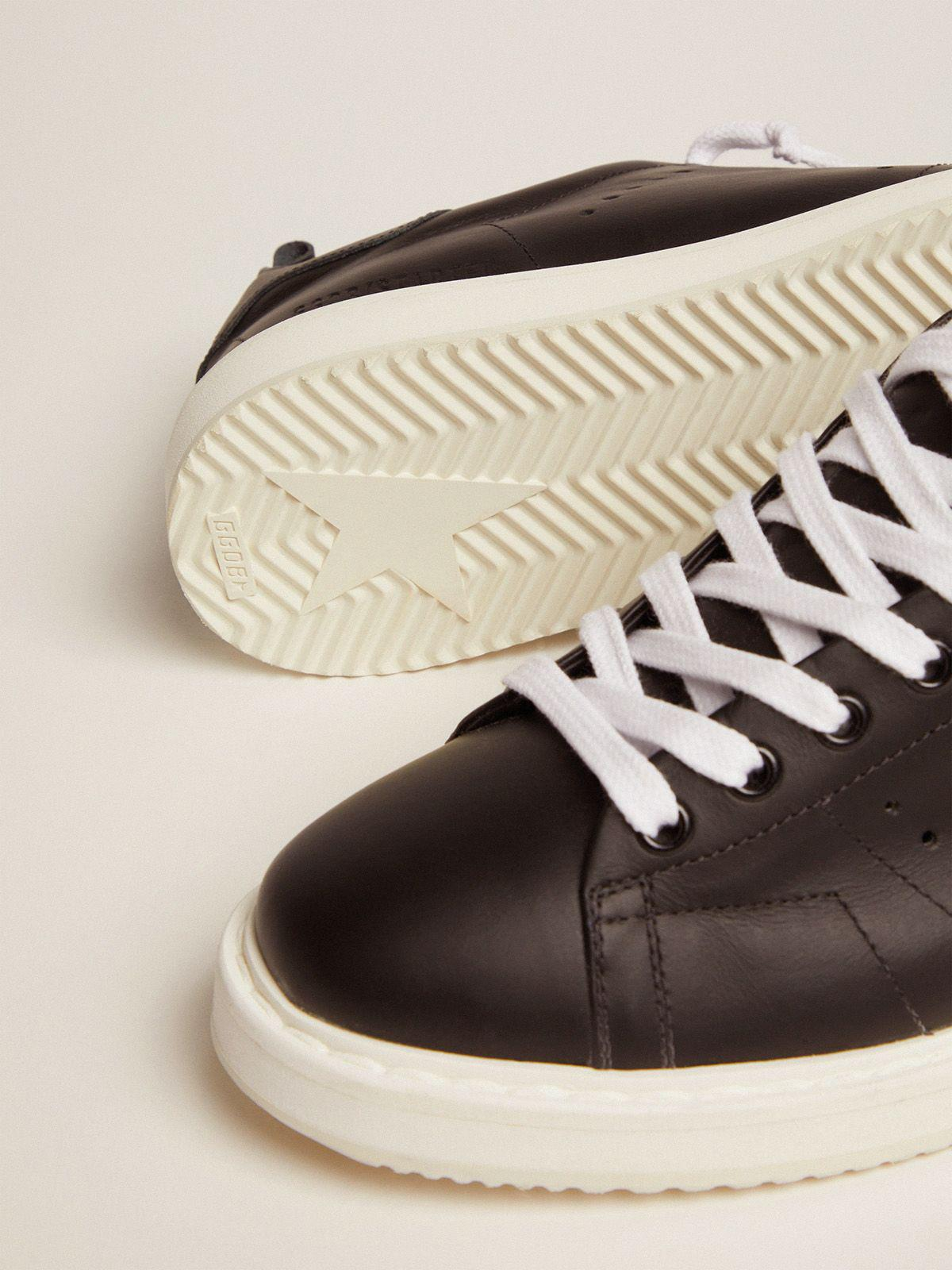 Starter sneakers in total black leather 2
