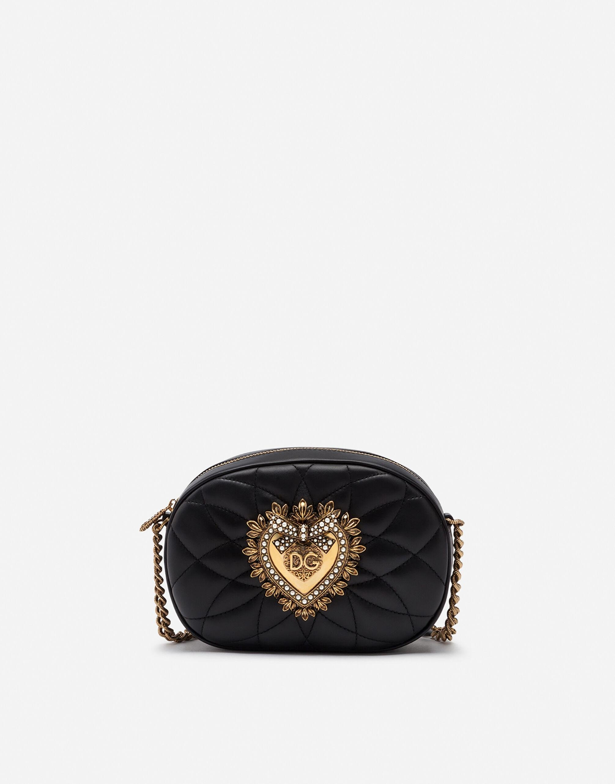 Devotion camera bag in quilted nappa leather