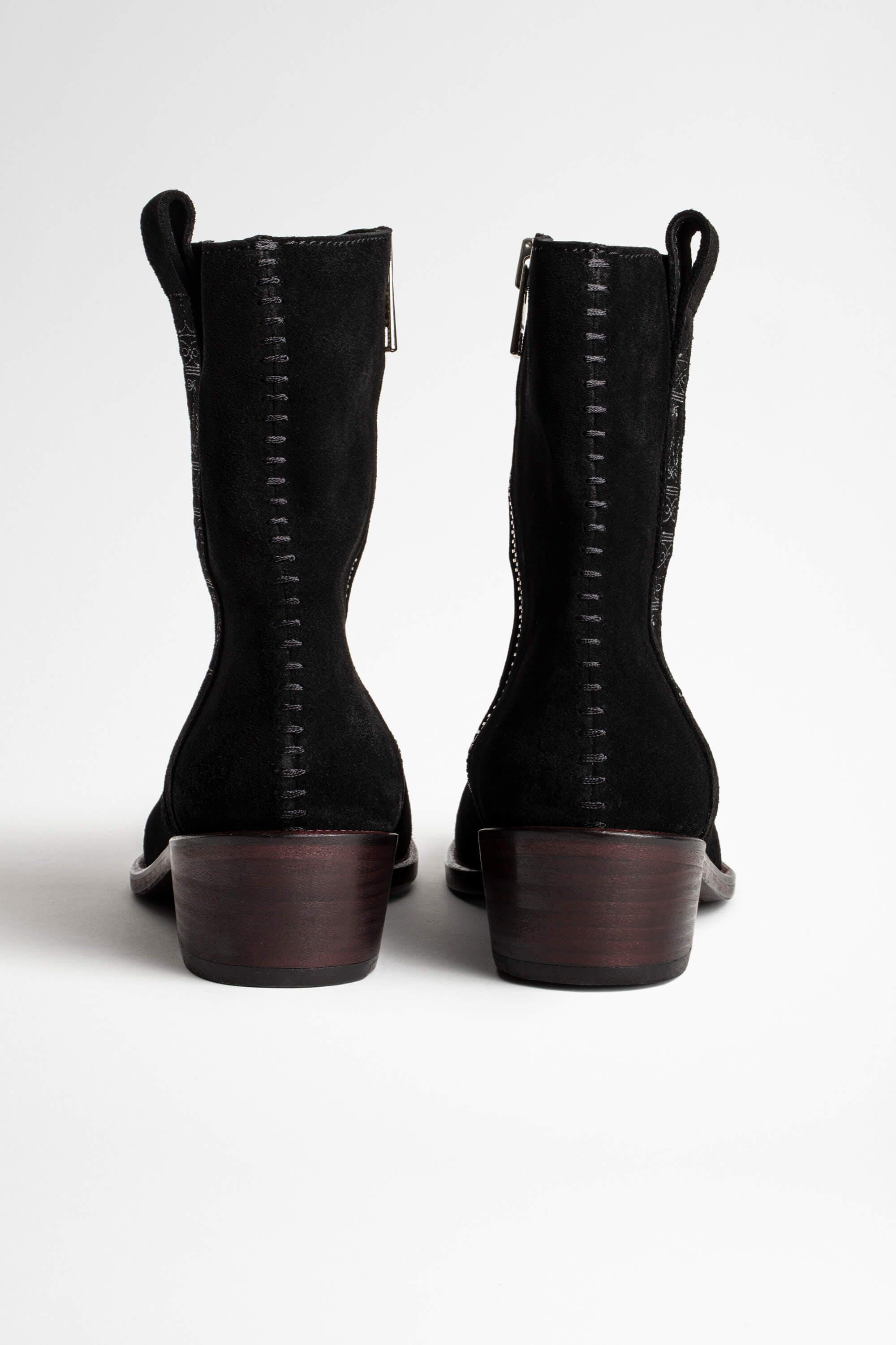 Pilar High Suede Ankle Boots 3