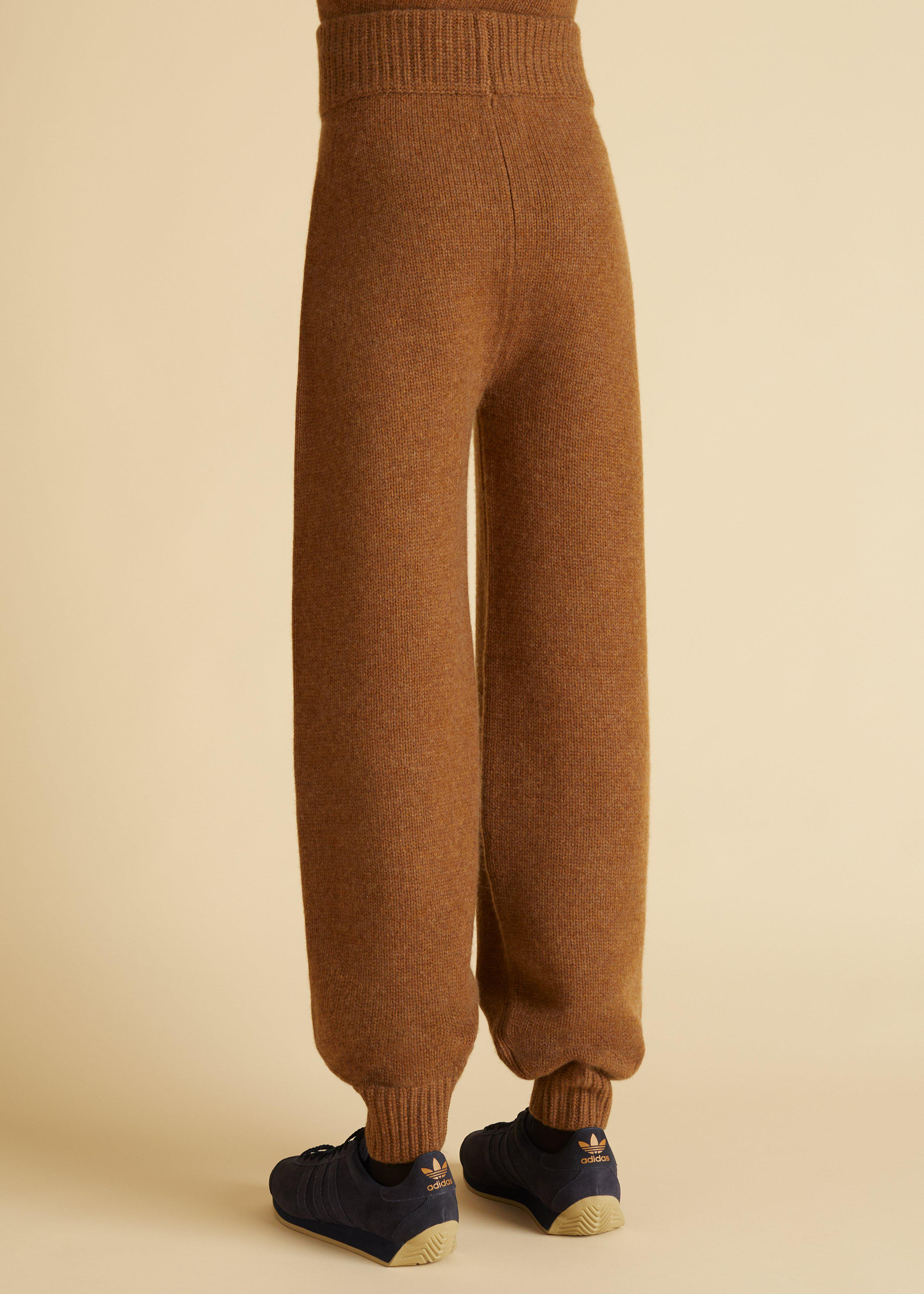The Joey Pant in Walnut 2