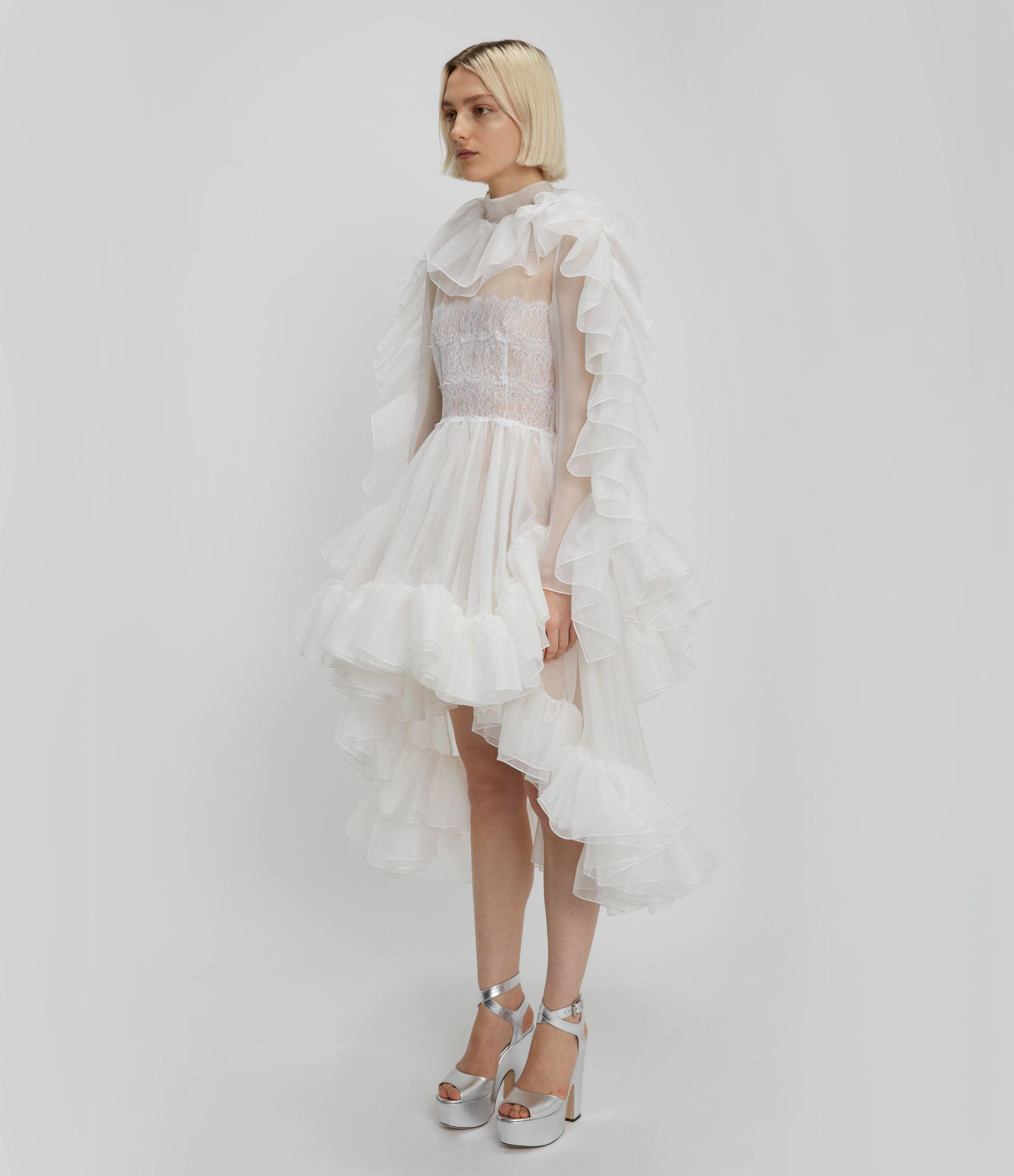 Christopher Kane Bridal: The Organza Frill Gown 1