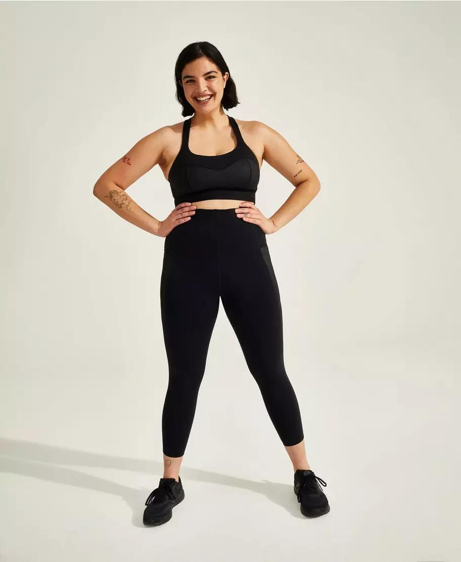 Storm Power Shine High-Waisted 7/8 Workout Leggings