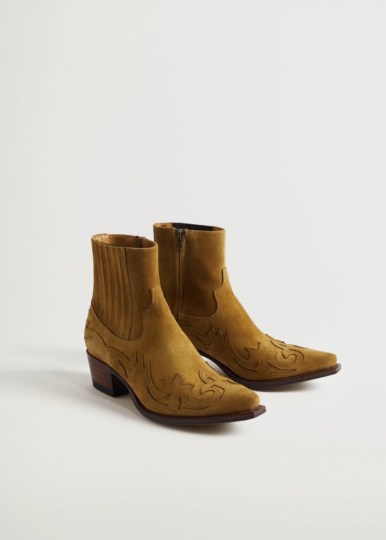Goodyear welted leather boots 1