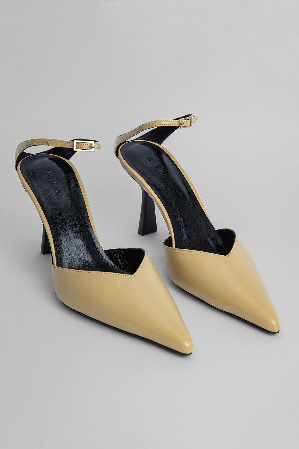 Alla Yellow Creased Leather 1