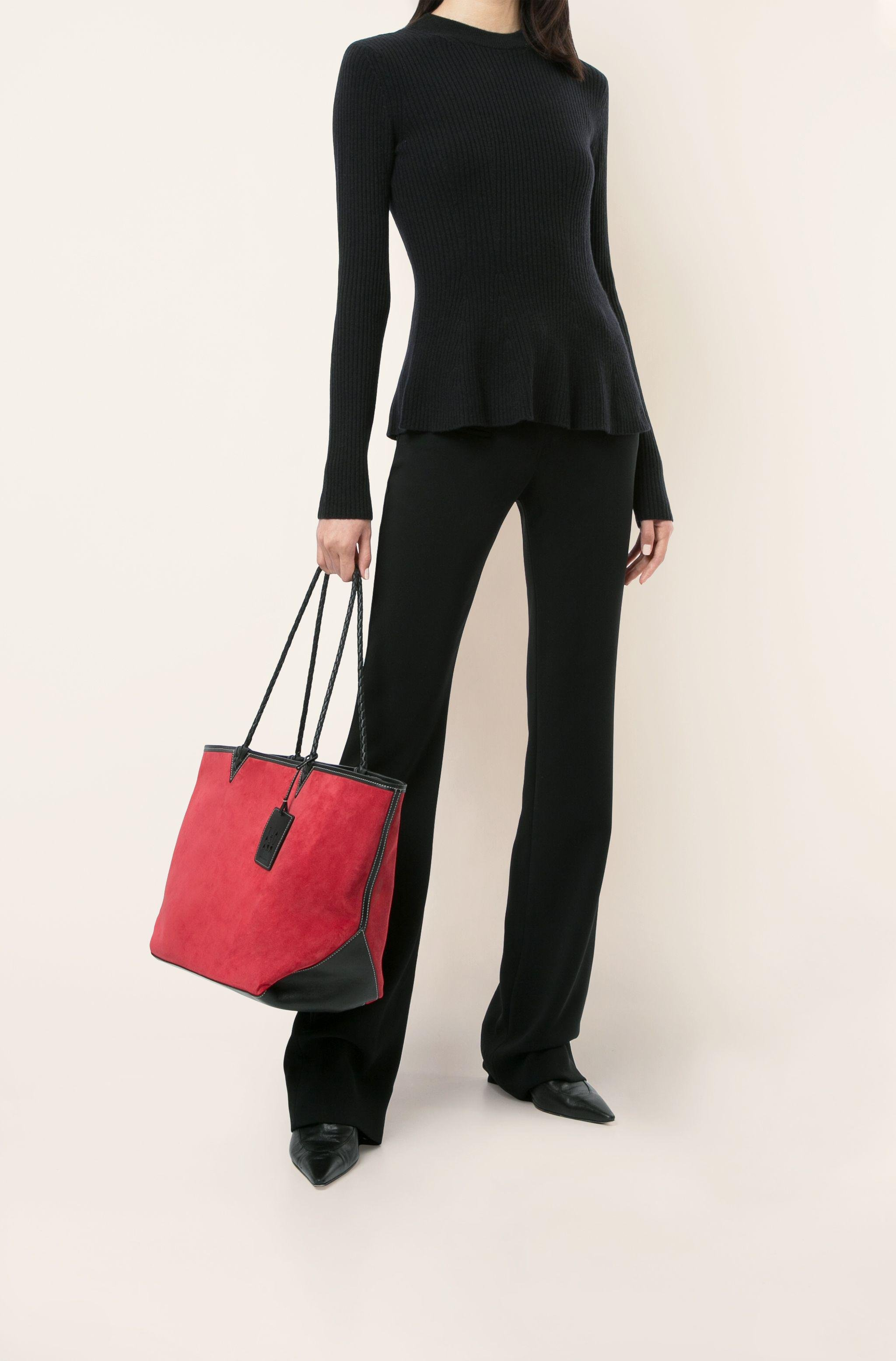 Reversible Leather Tote 4