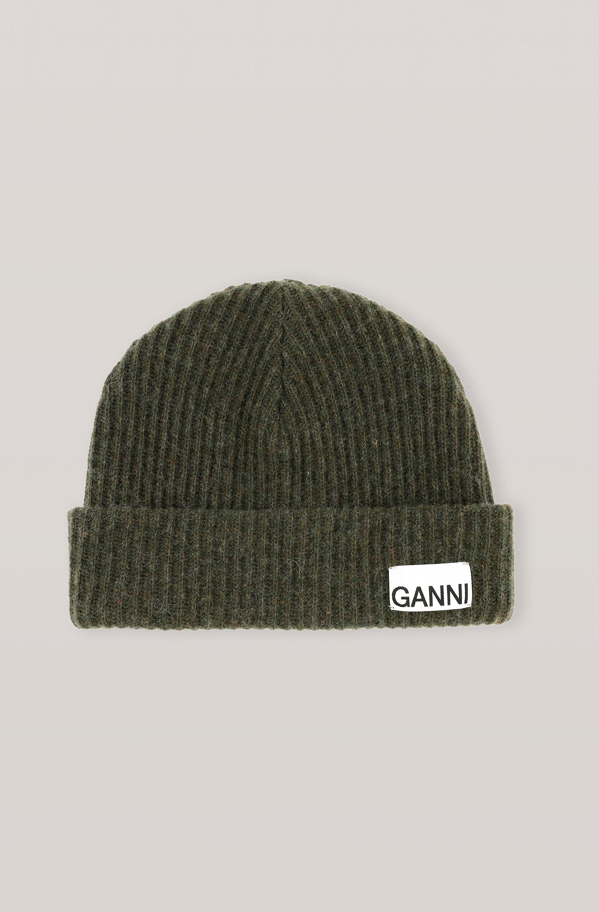 Recycled Wool Knit Hat