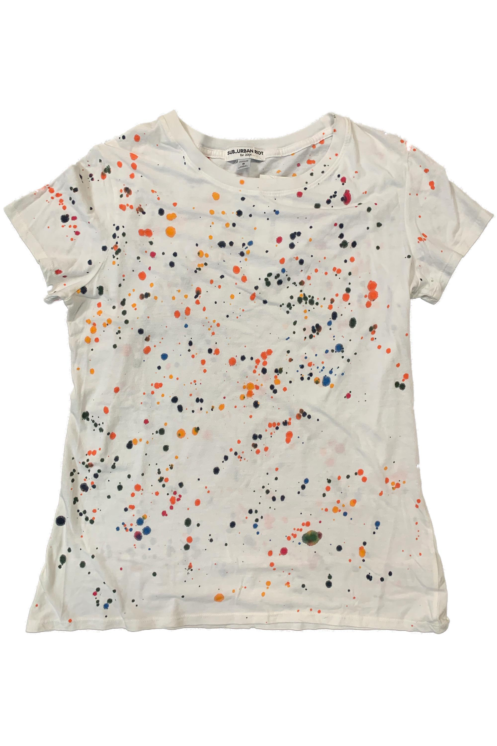 SPLATTER PAINT YOUTH SIZE LOOSE TEE