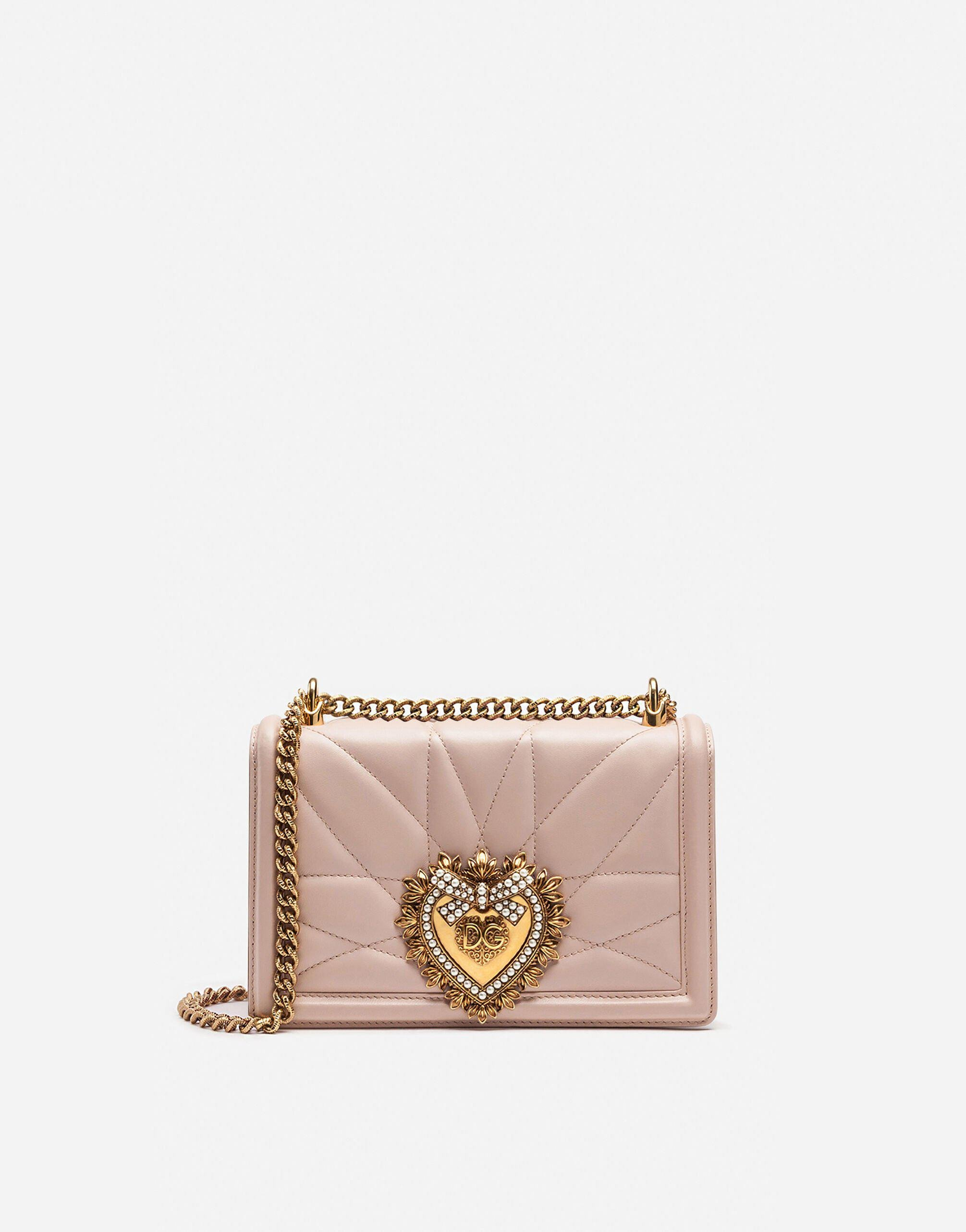 Medium Devotion bag in quilted nappa leather 0