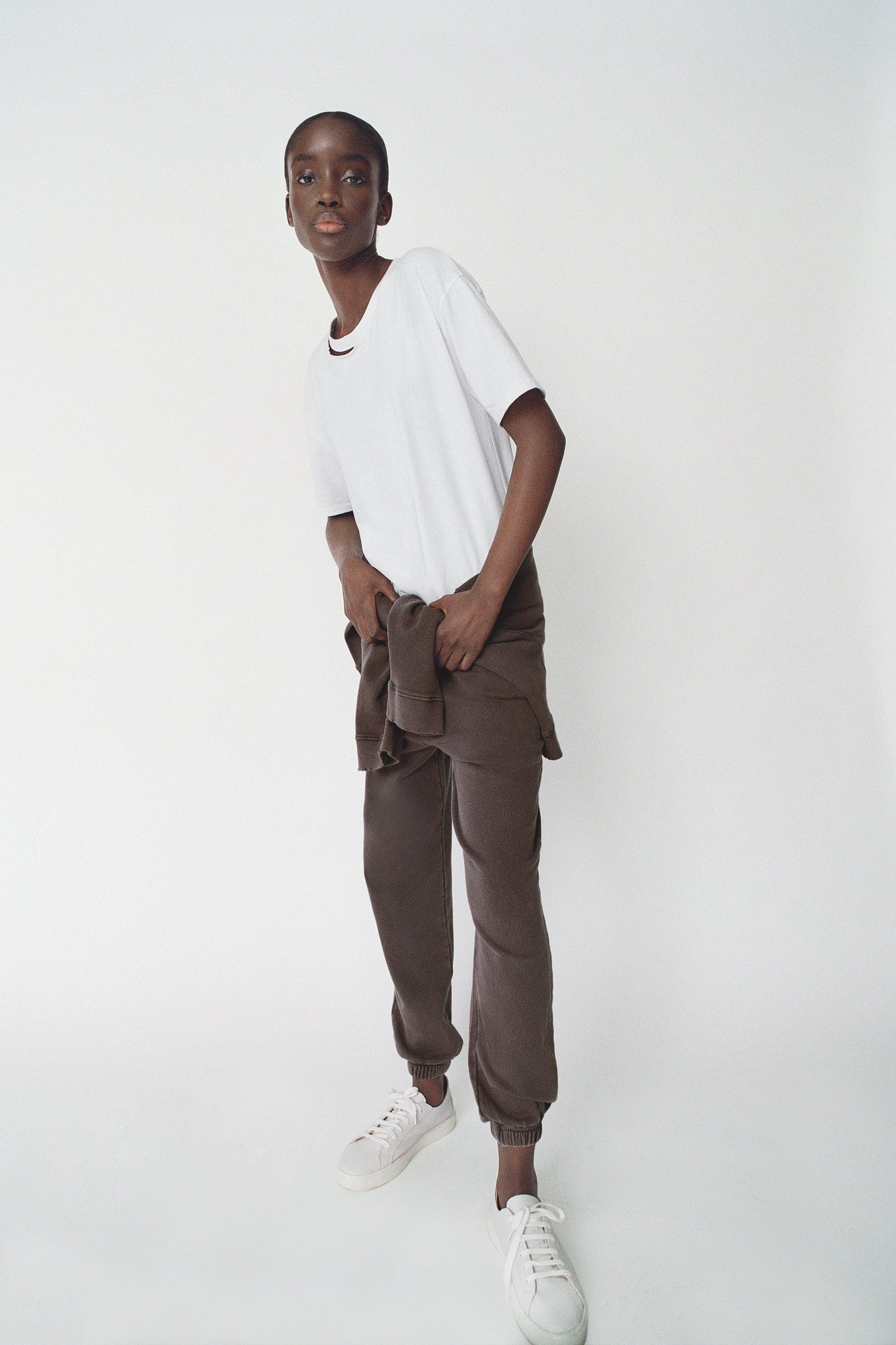 WASHED EFFECT JOGGER PANTS