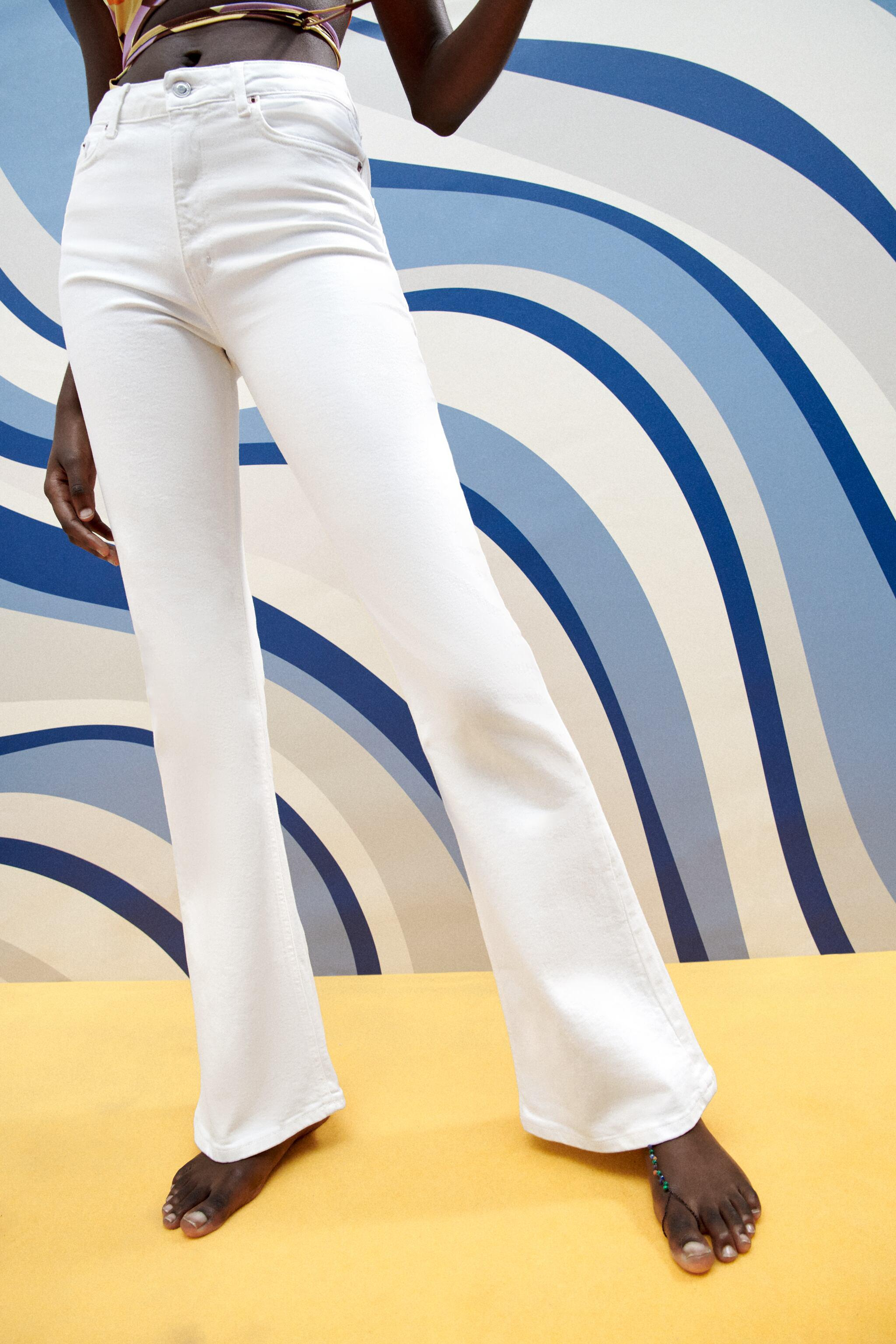 ZW THE SKINNY FLARE JEANS 1