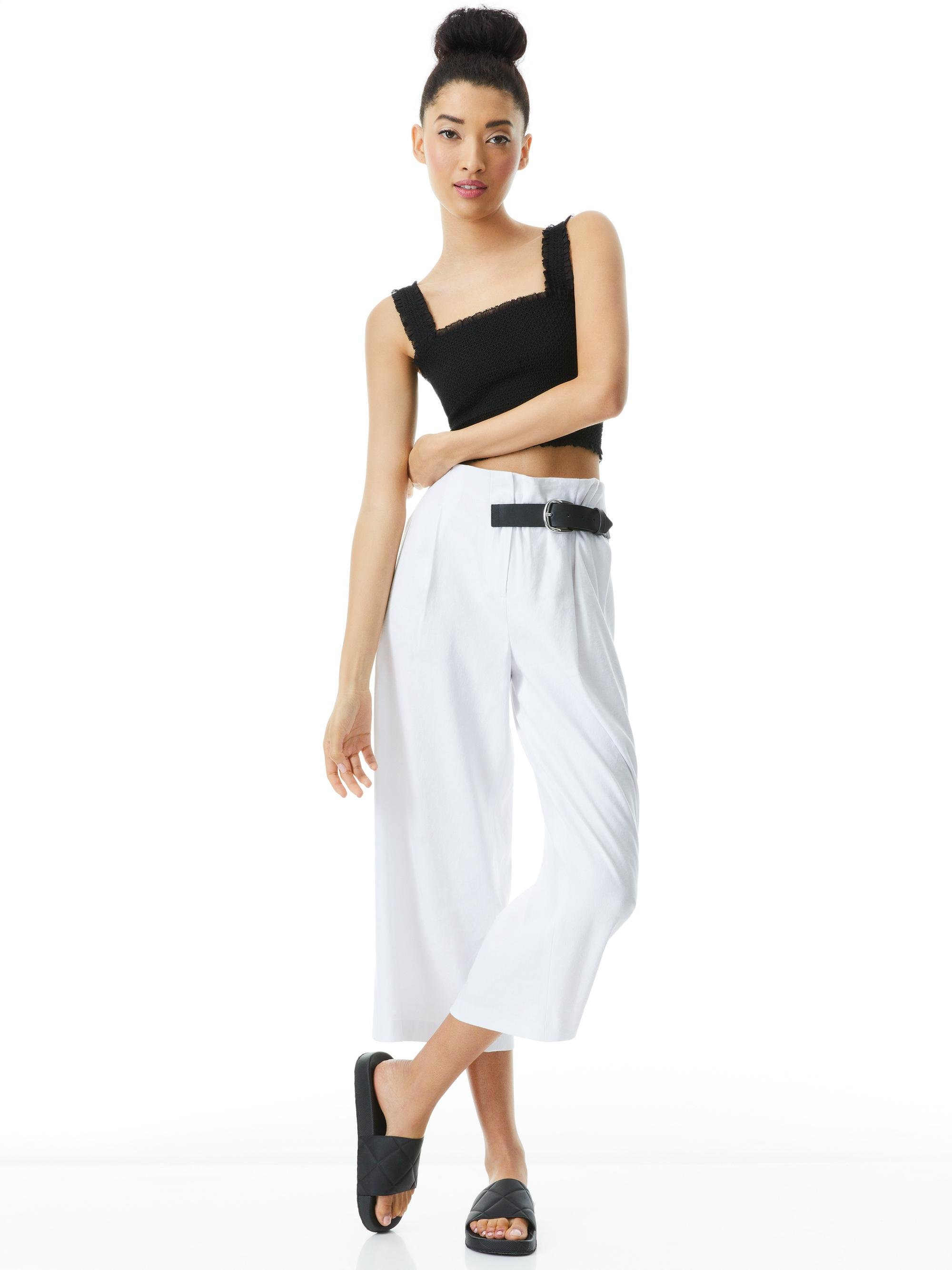 ADELINA BELTED PANT 2