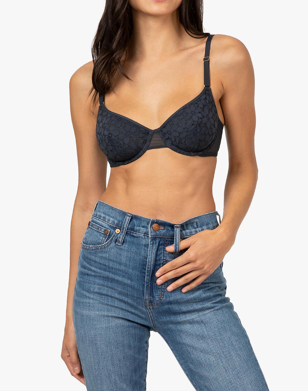 LIVELY The Floral Lace Balconette Bra